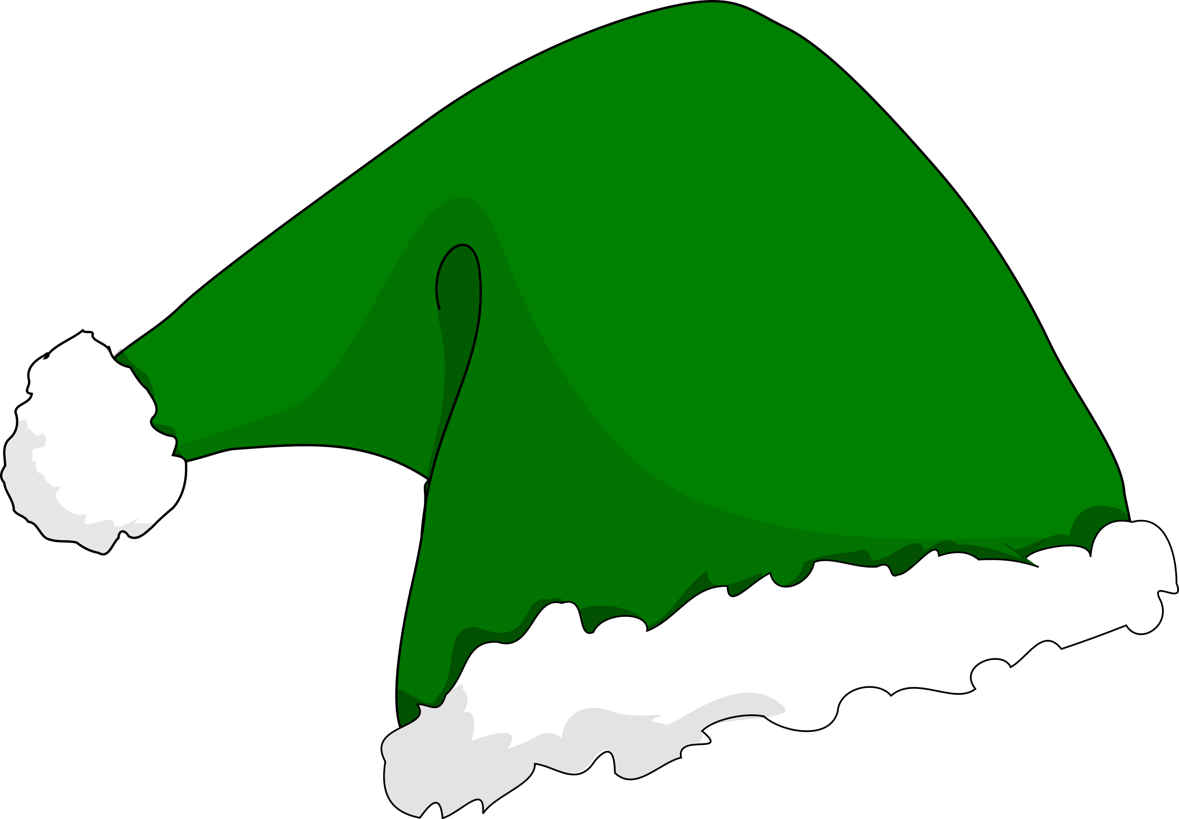 clipart elf hat rh openclipart org  christmas elf hat clip art free