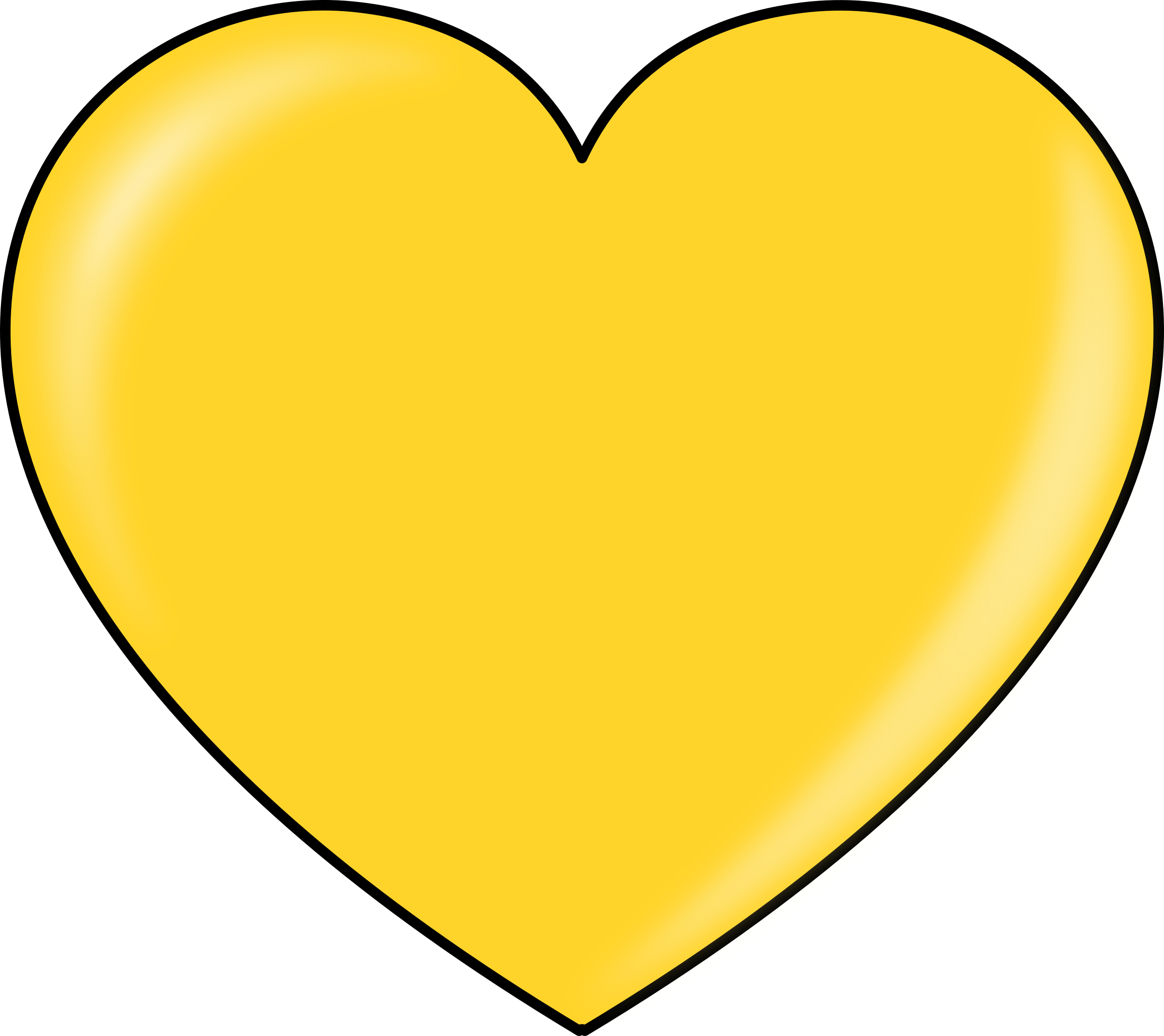 clipart gold heart rh openclipart org gold heart clip art free pink and gold heart clip art