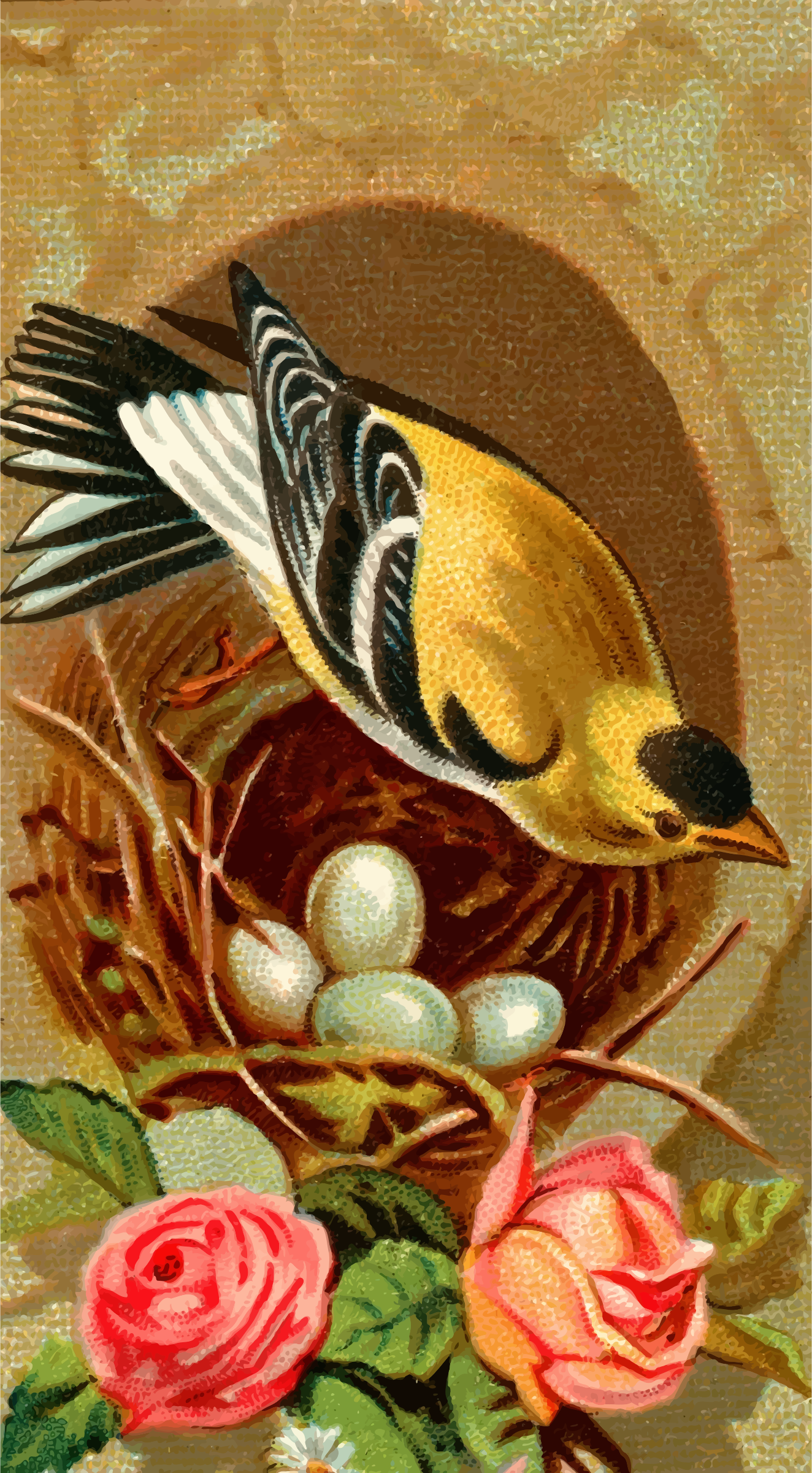 Cigarette card - Goldfinch by Firkin