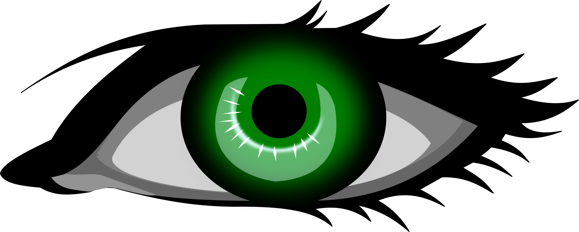 Green eye by secretlondon