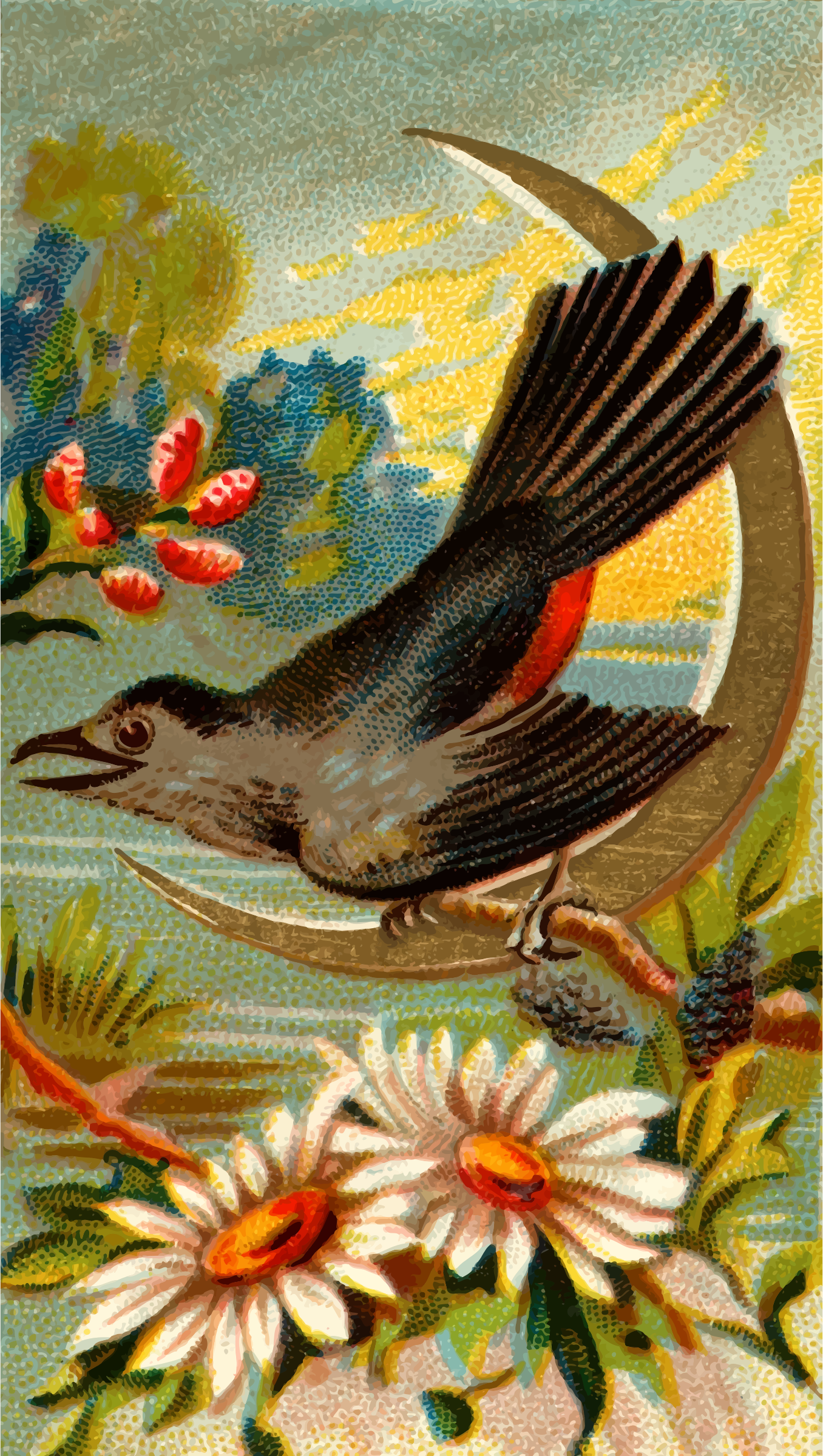 Cigarette card - Catbird by Firkin