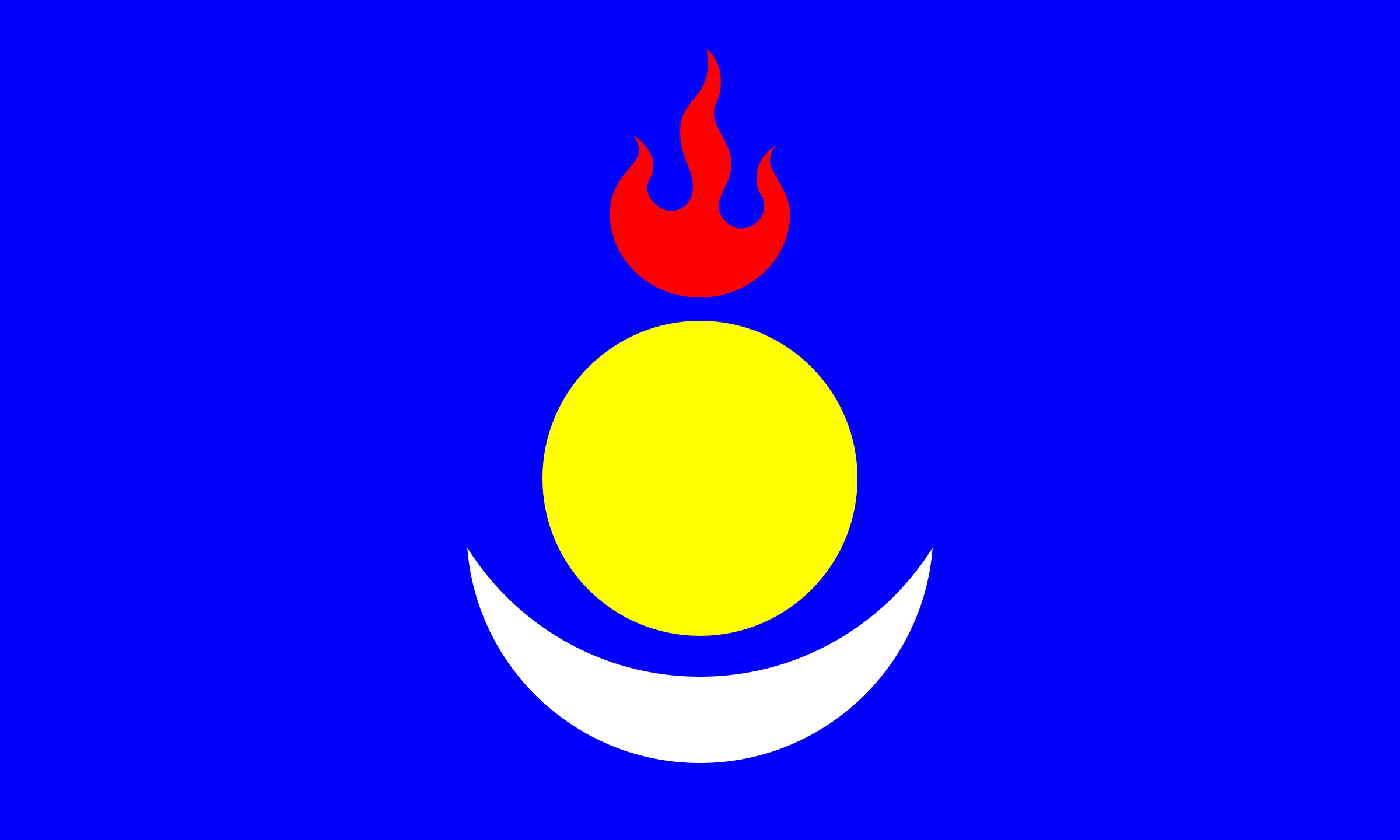 South Mongolia flag by Clon