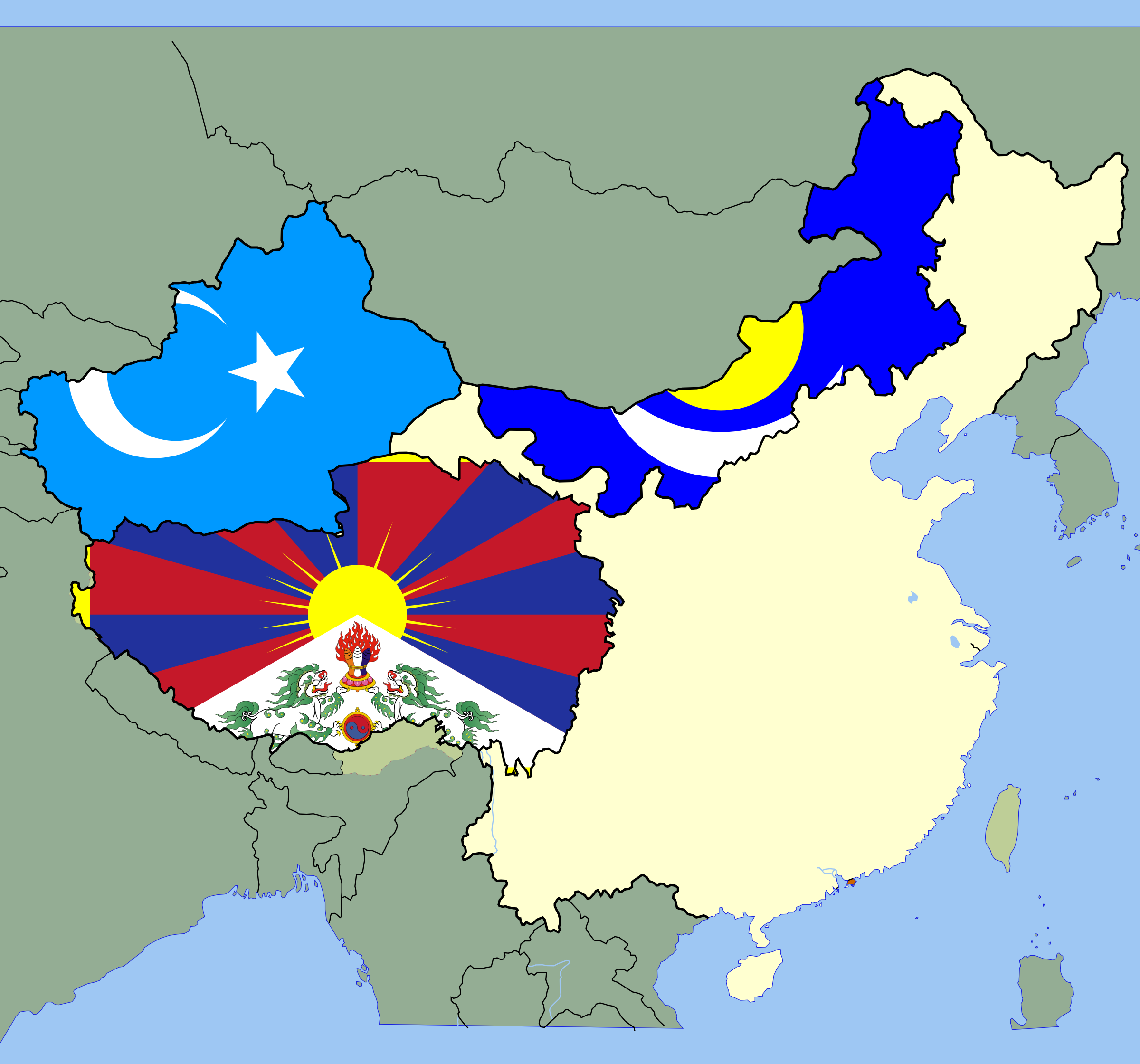 China separatism by Clon
