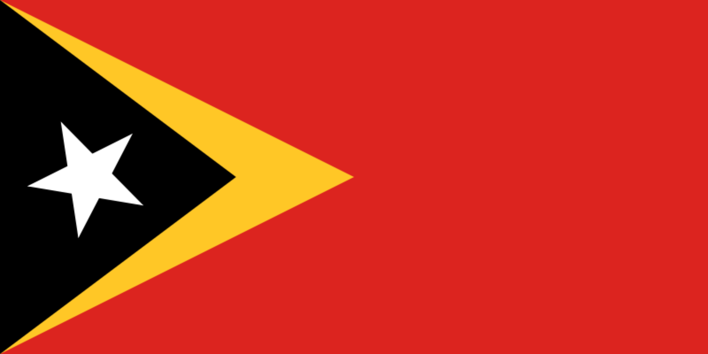 Flag of East Timor by Clon