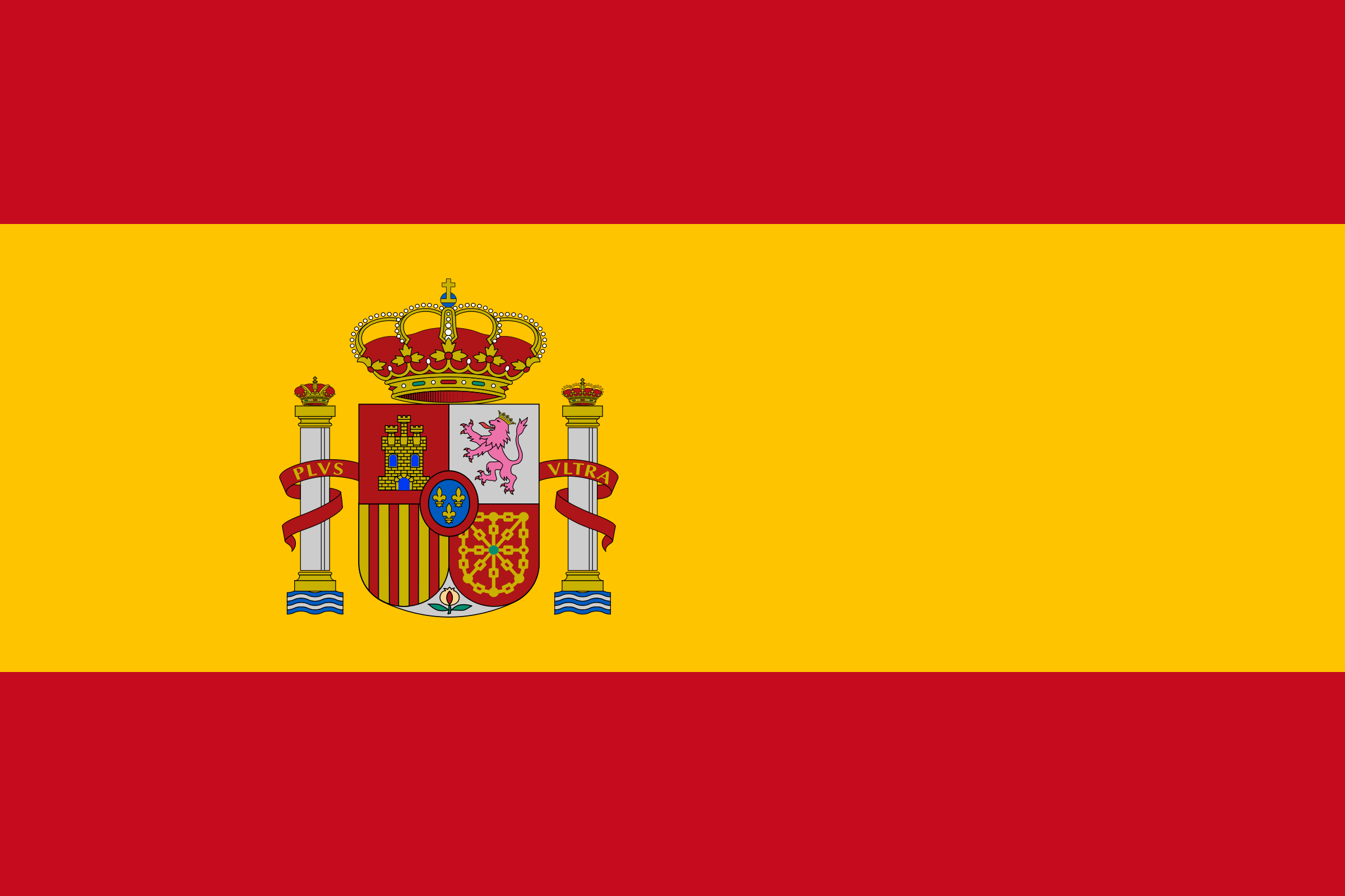 Flag of Spain by Clon