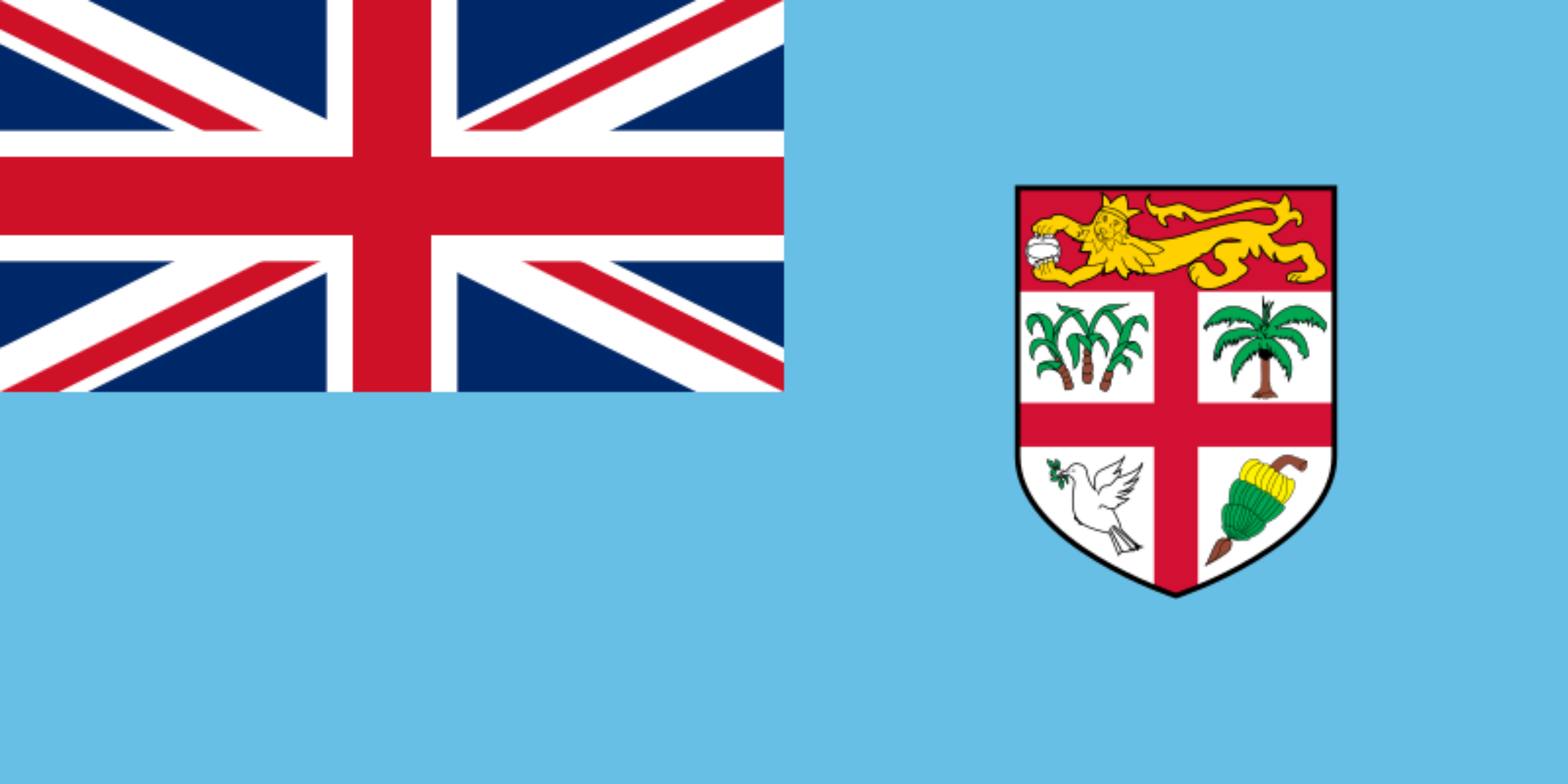 Flag od Fiji by Clon