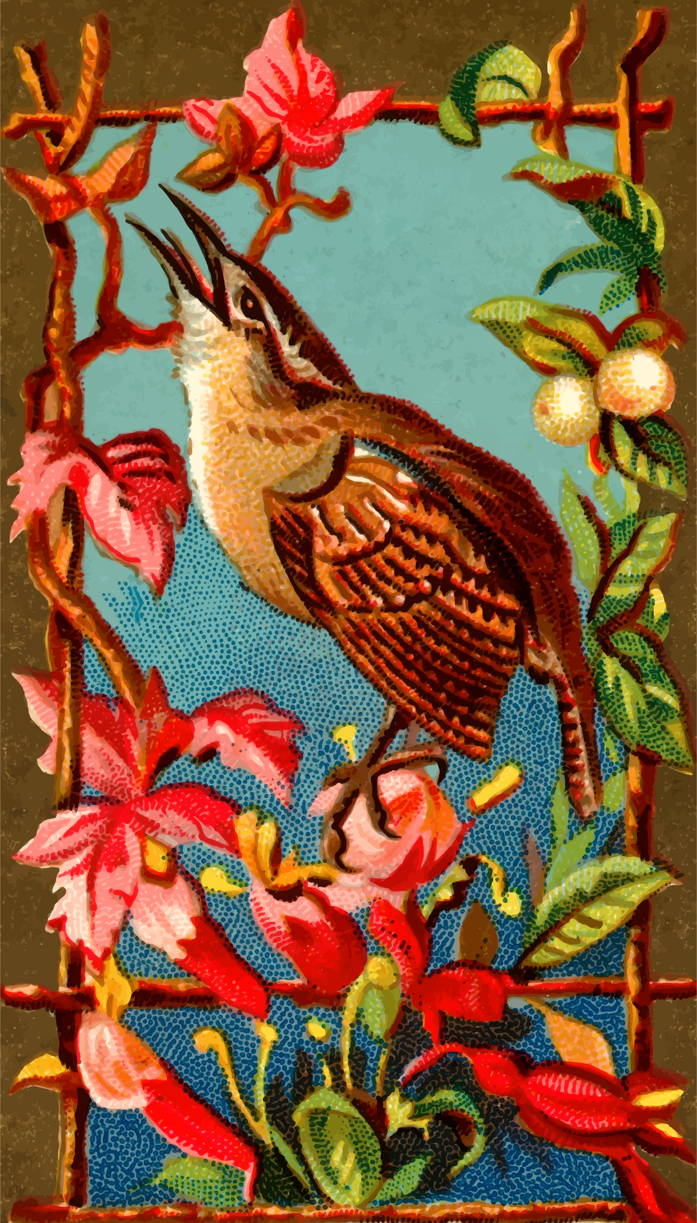 Cigarette card - Wren by Firkin