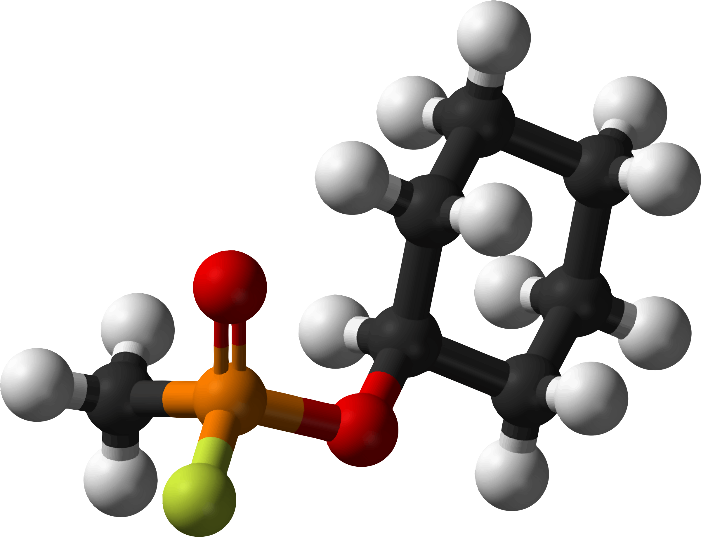 Famous (and infamous) molecules 42 - cyclosarin by Firkin
