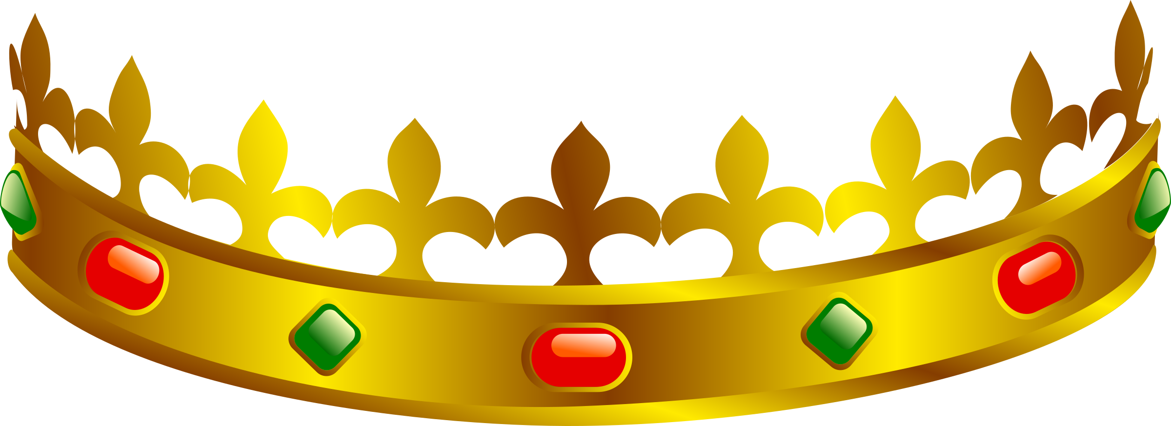 clipart front crown clip art crowns and tiaras clip art crown free