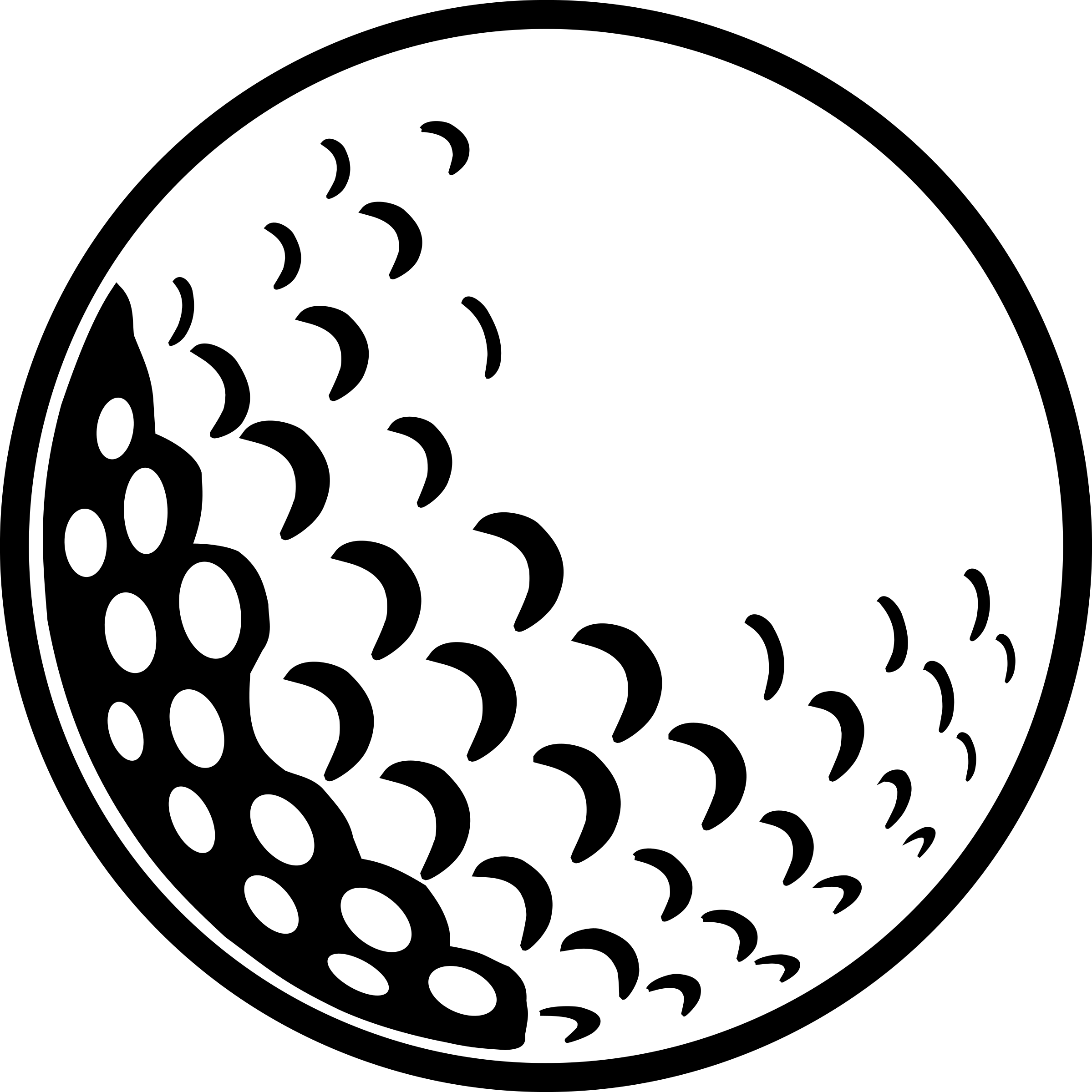 Golf Ball by mr.lex