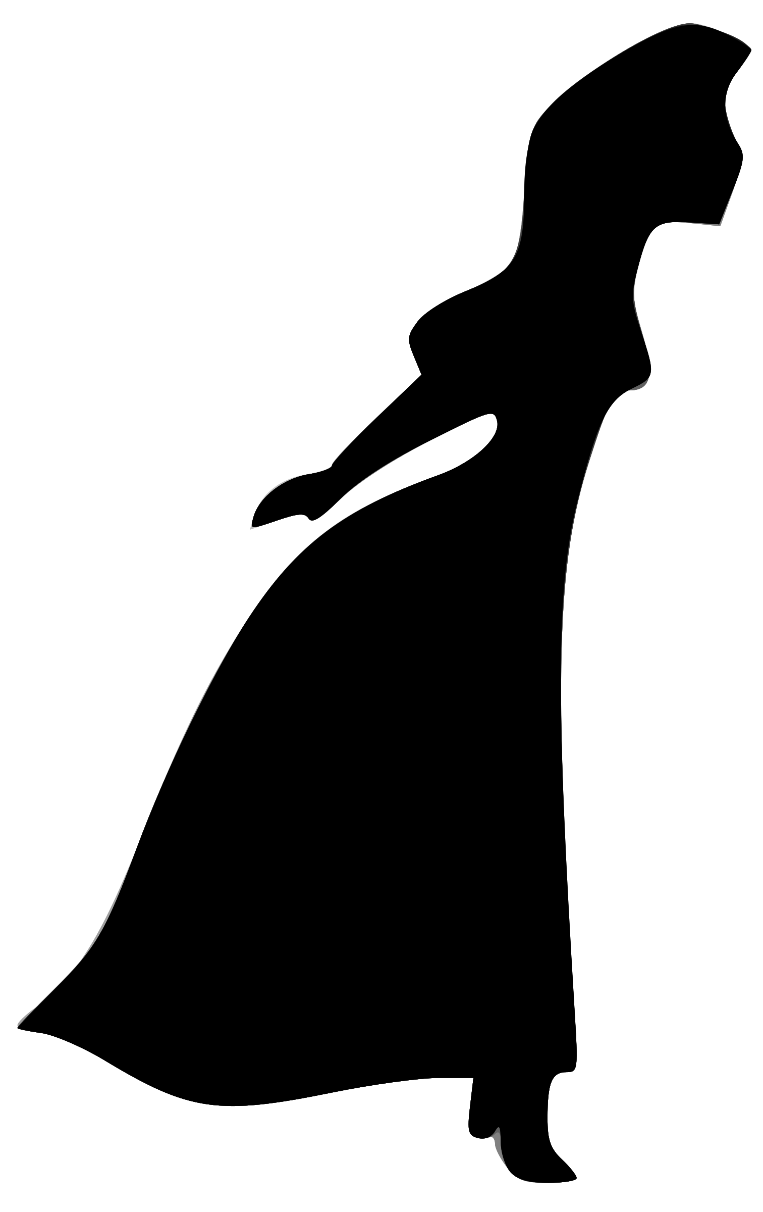 Woman's silhouette by phidari