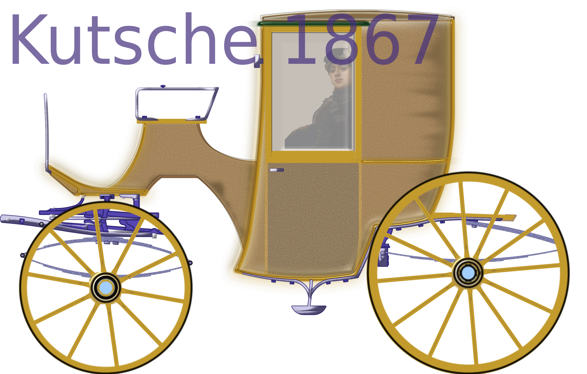 carriage 01-Vector by SH