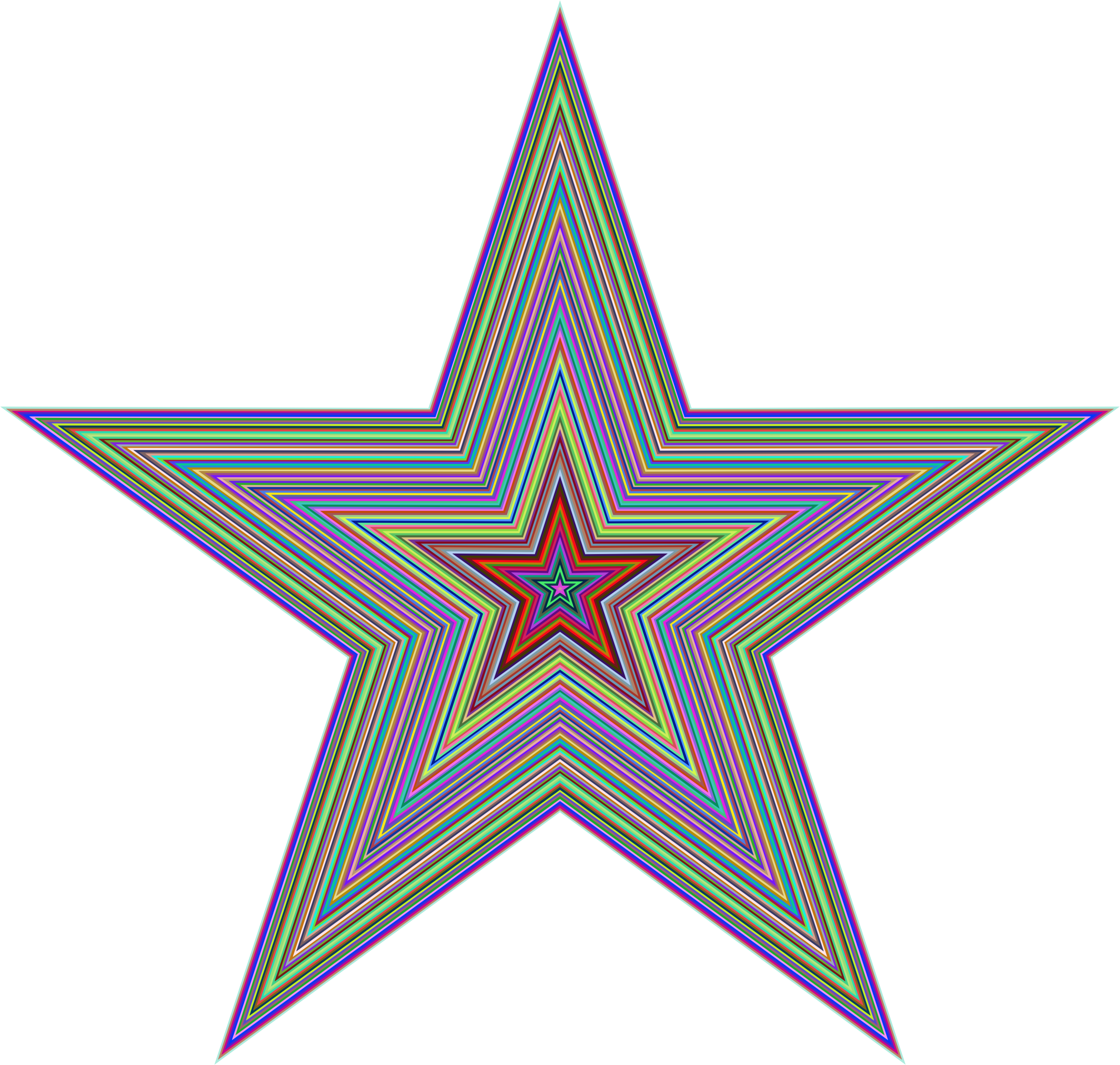Prismatic Star by GDJ