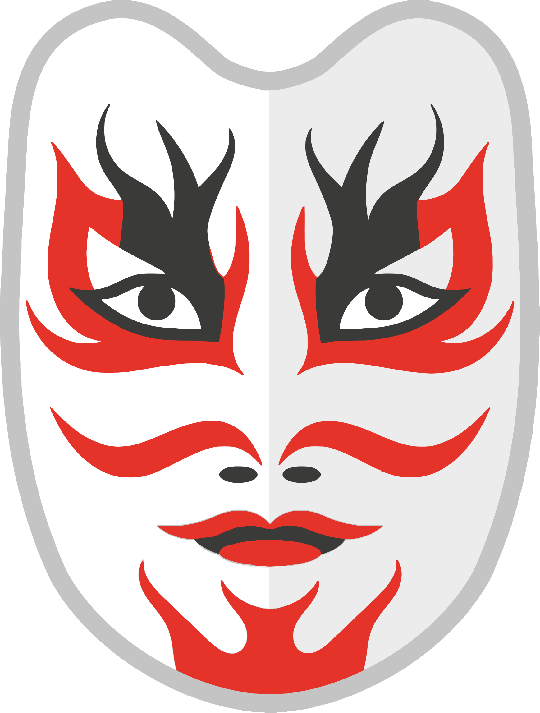 Japanese Mask by GDJ