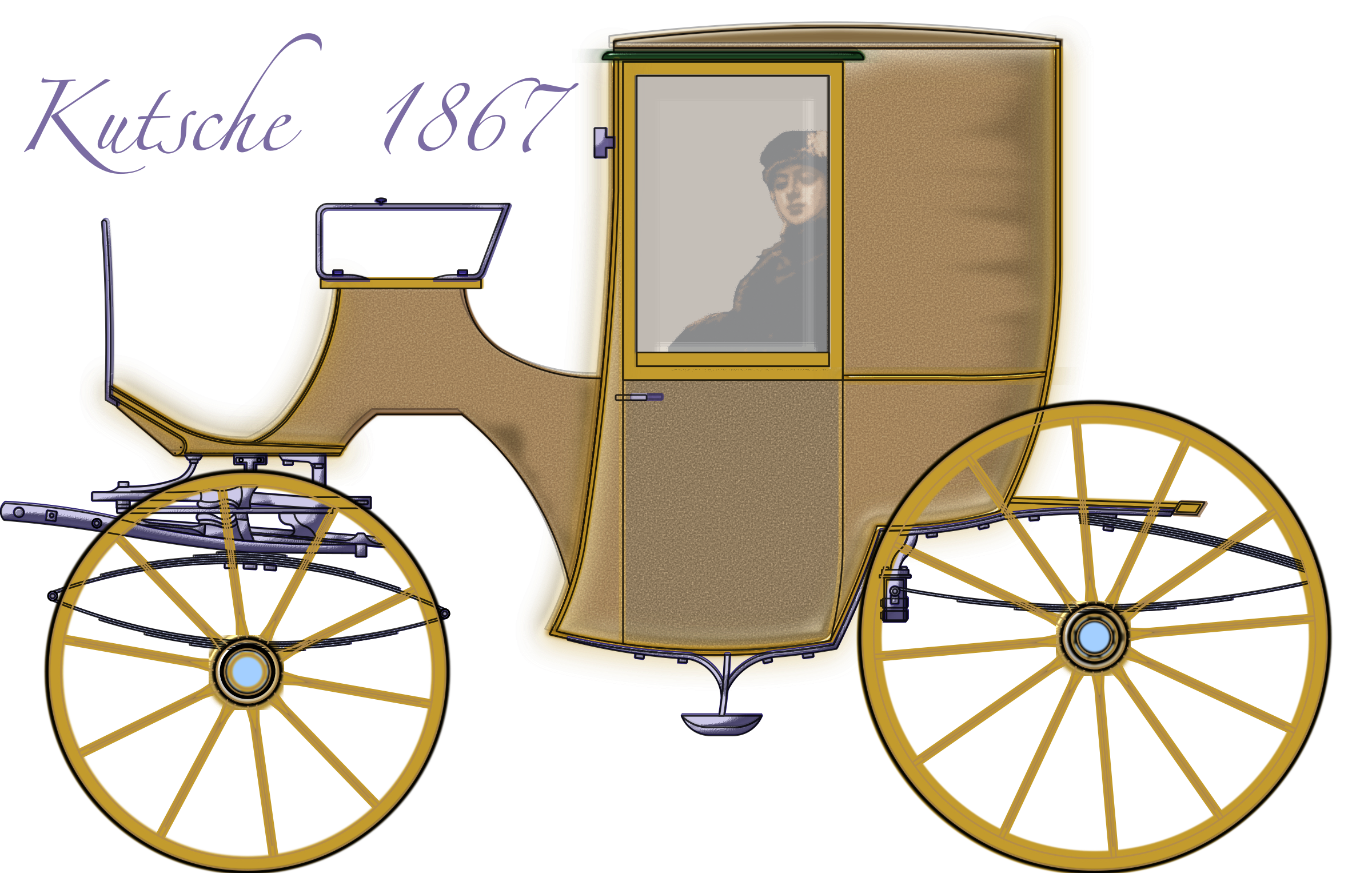 Carriage 01 - only Vector  by SH