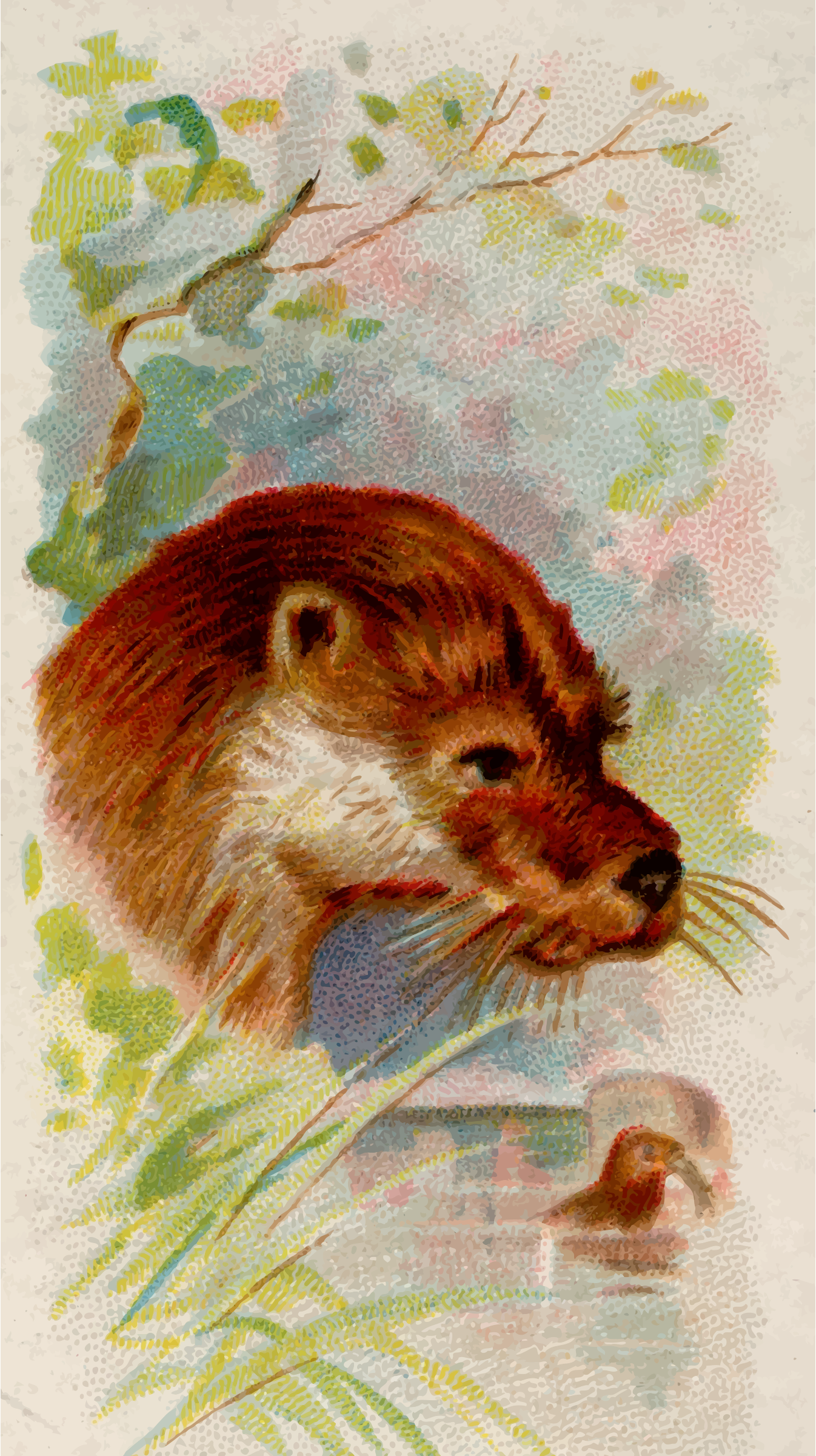Cigarette card - Otter by Firkin