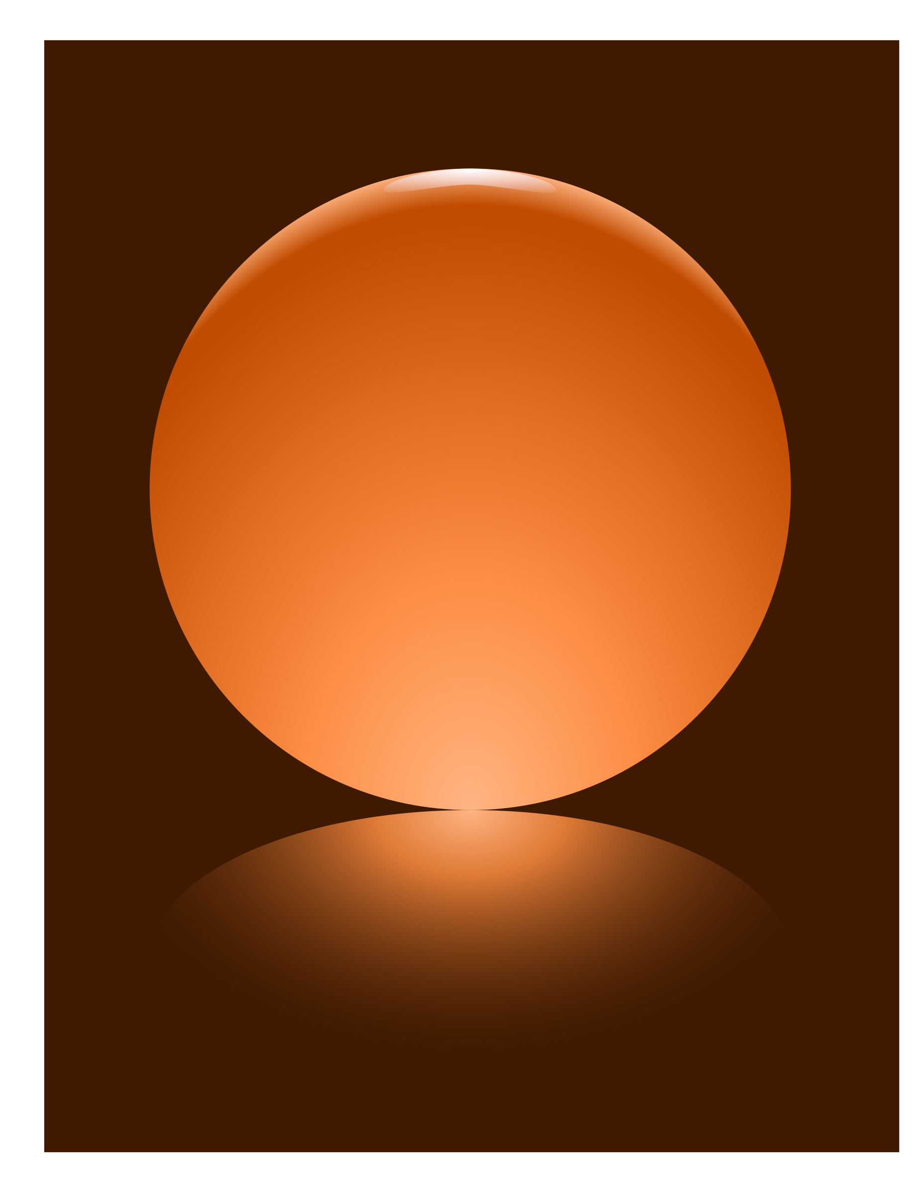 Orange Sphere by djpaul