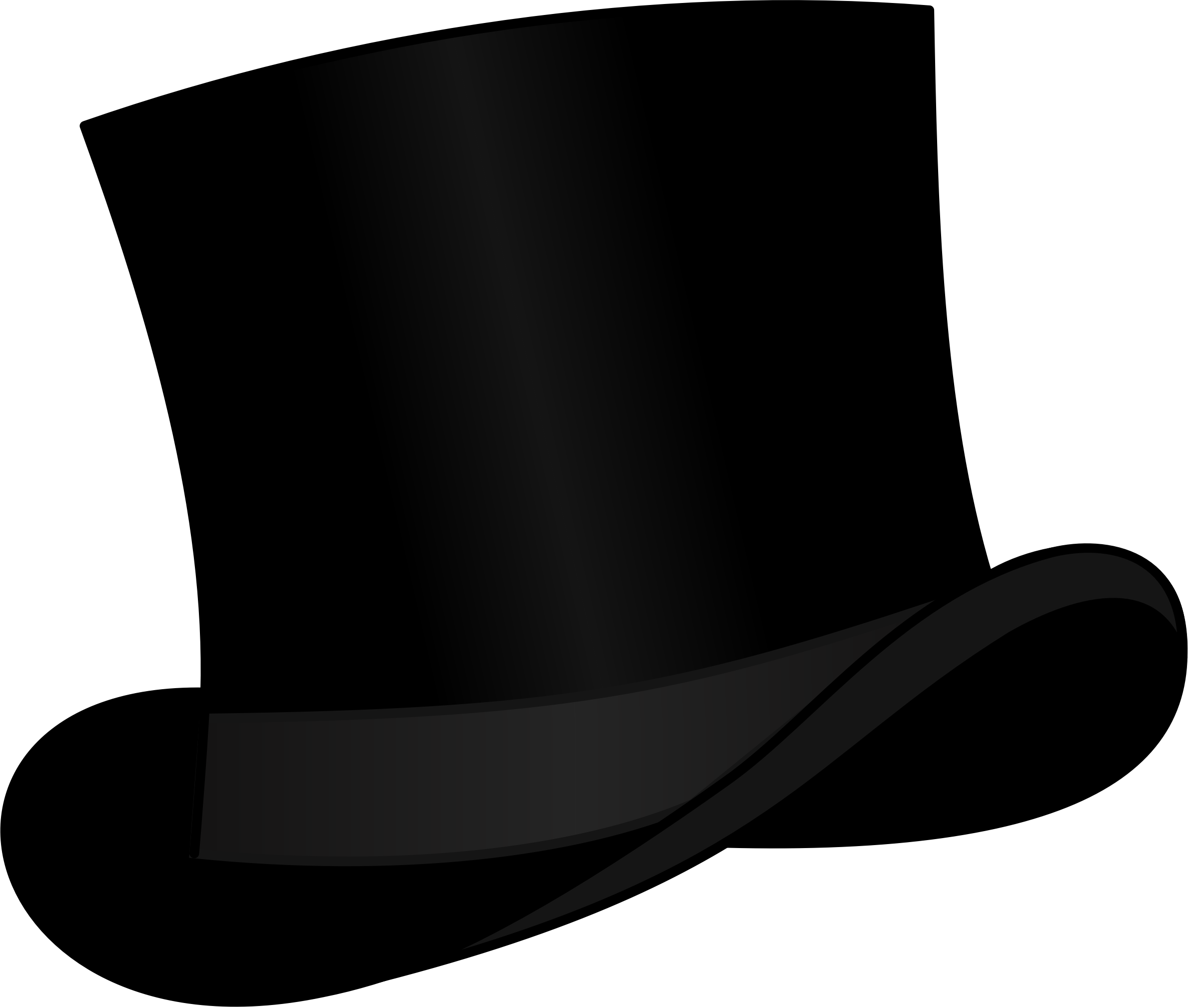 Top hat black by cschreuders