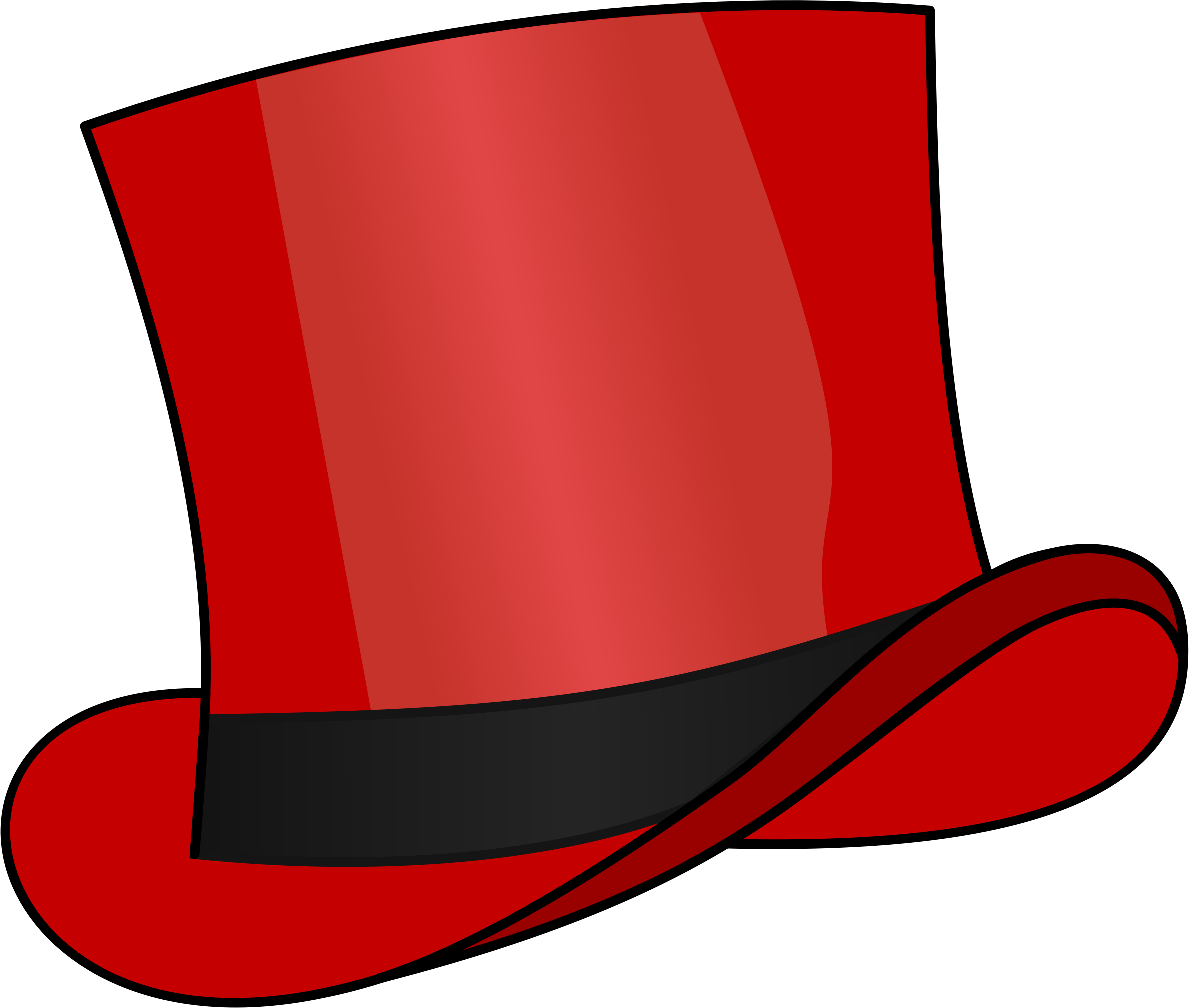 Red top hat by cschreuders