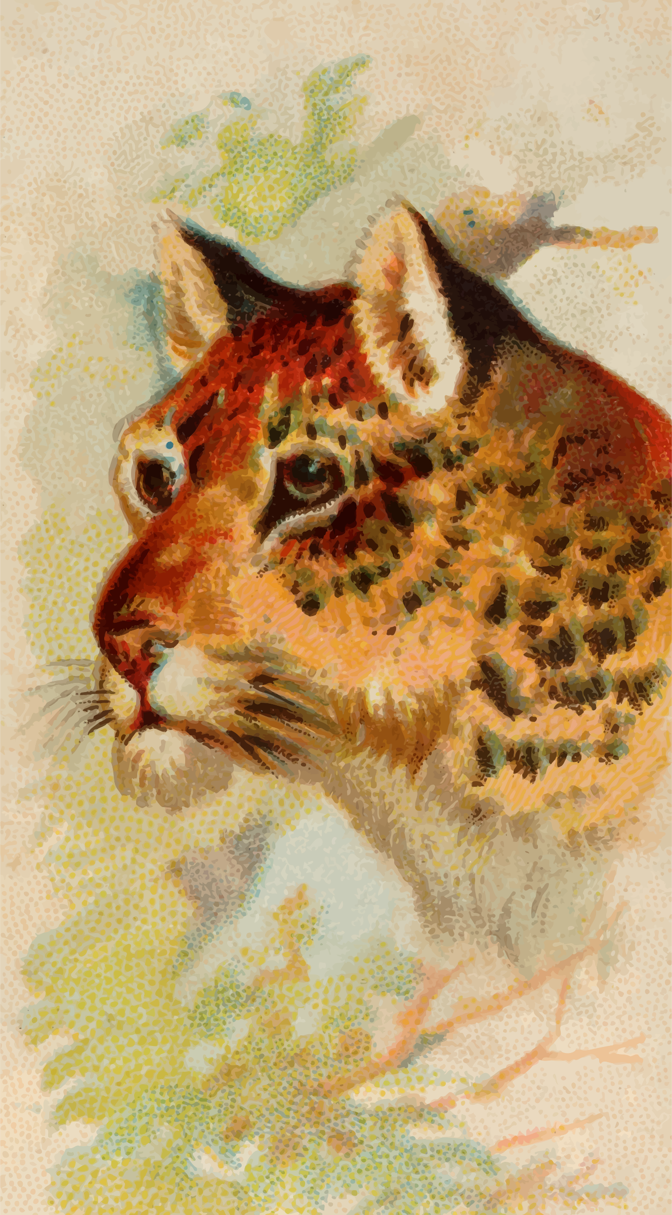 Cigarette card - Leopard by Firkin