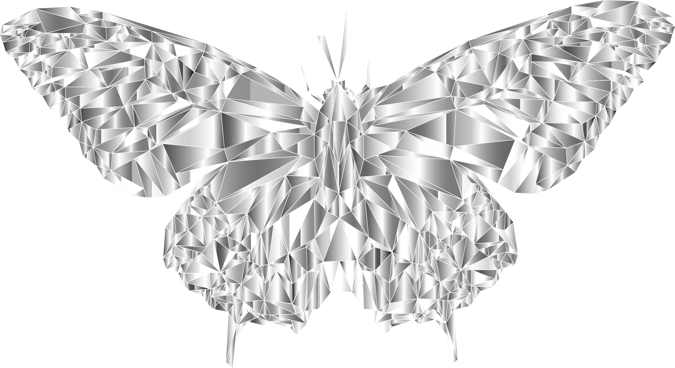 Low Poly Butterfly Prismatic 5 by GDJ