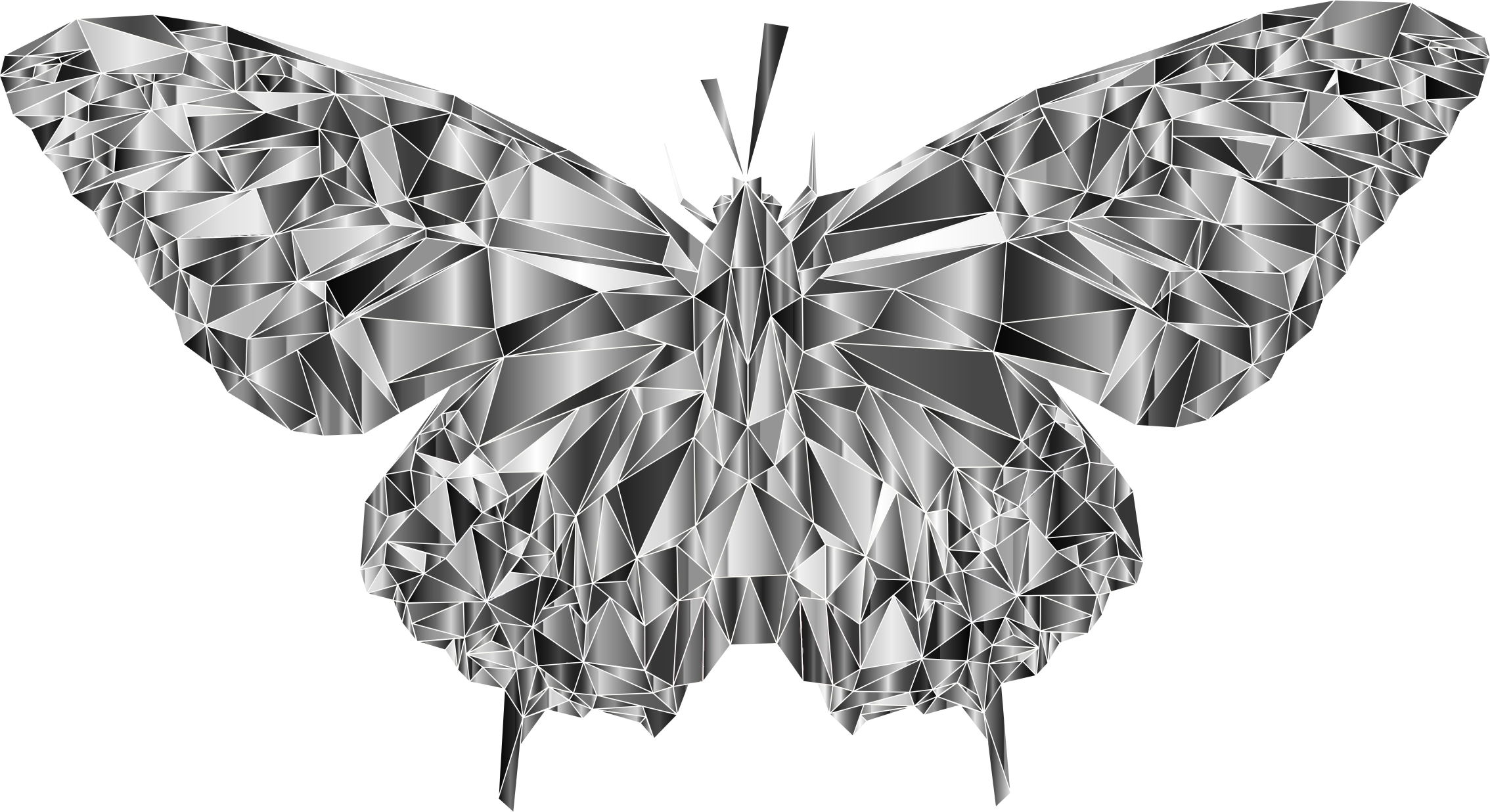 Low Poly Butterfly Prismatic 6 by GDJ