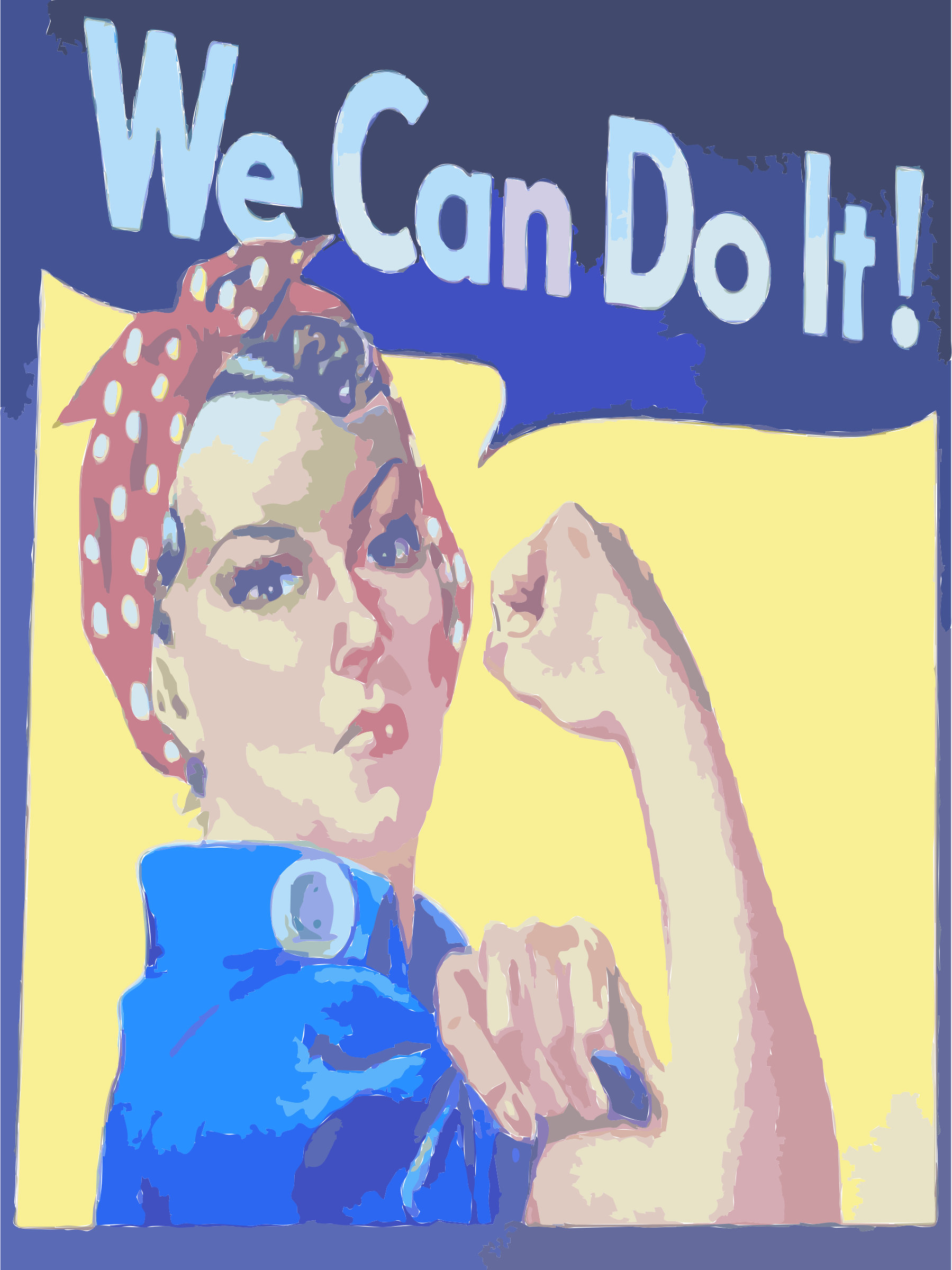 We Can Do It! by rejon