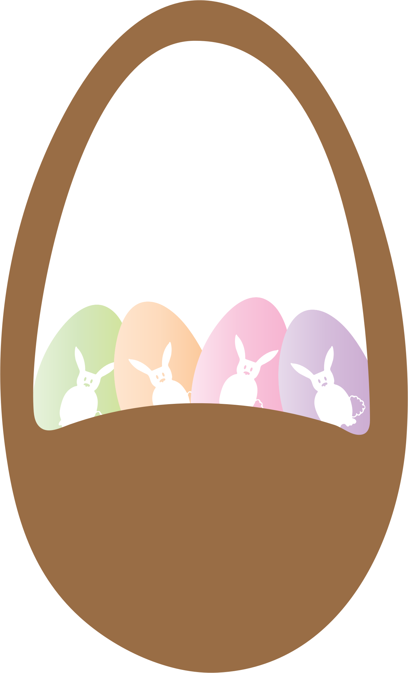 Easter Basket and Eggs by SavanaPrice