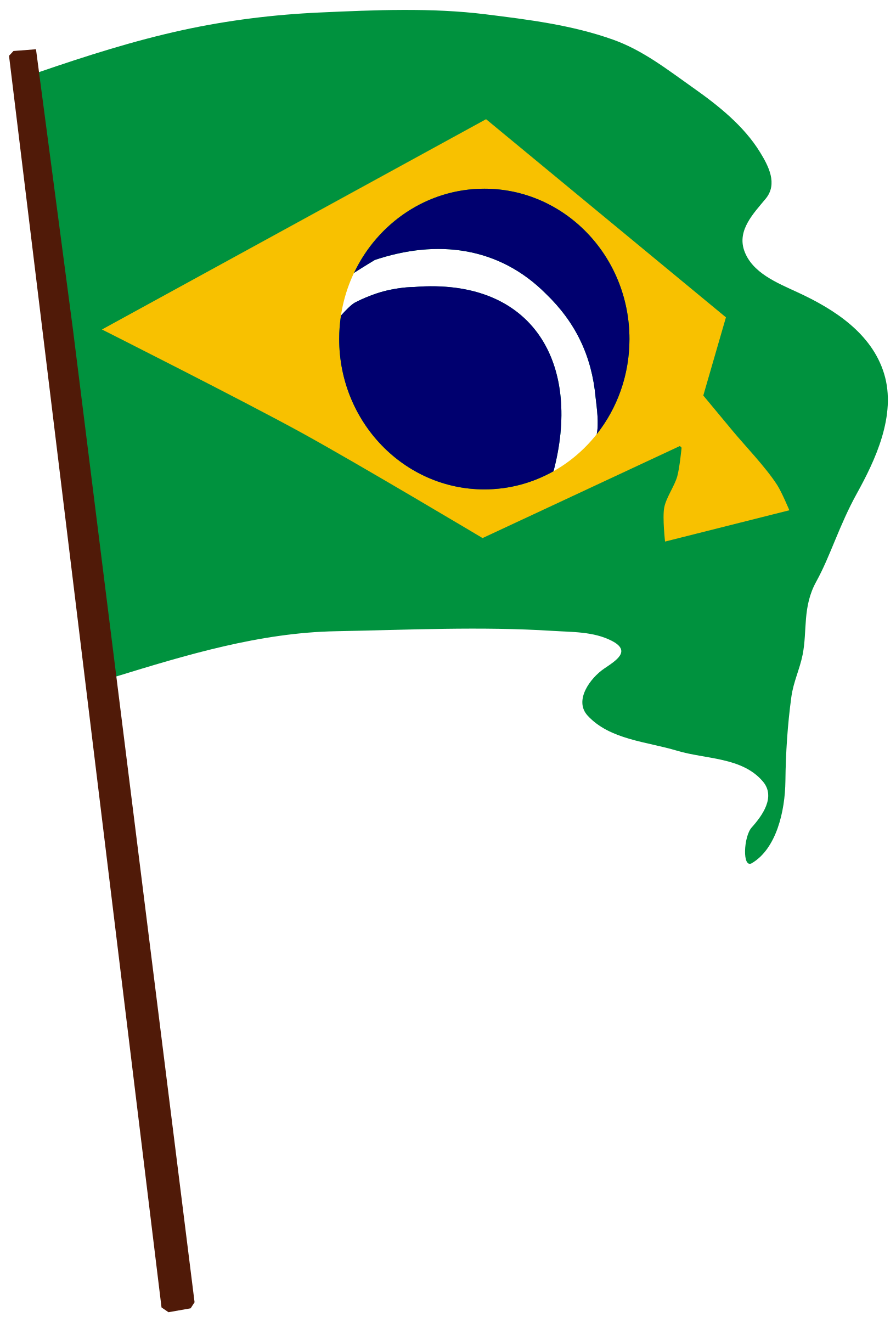 Flag of Brazil by laobc