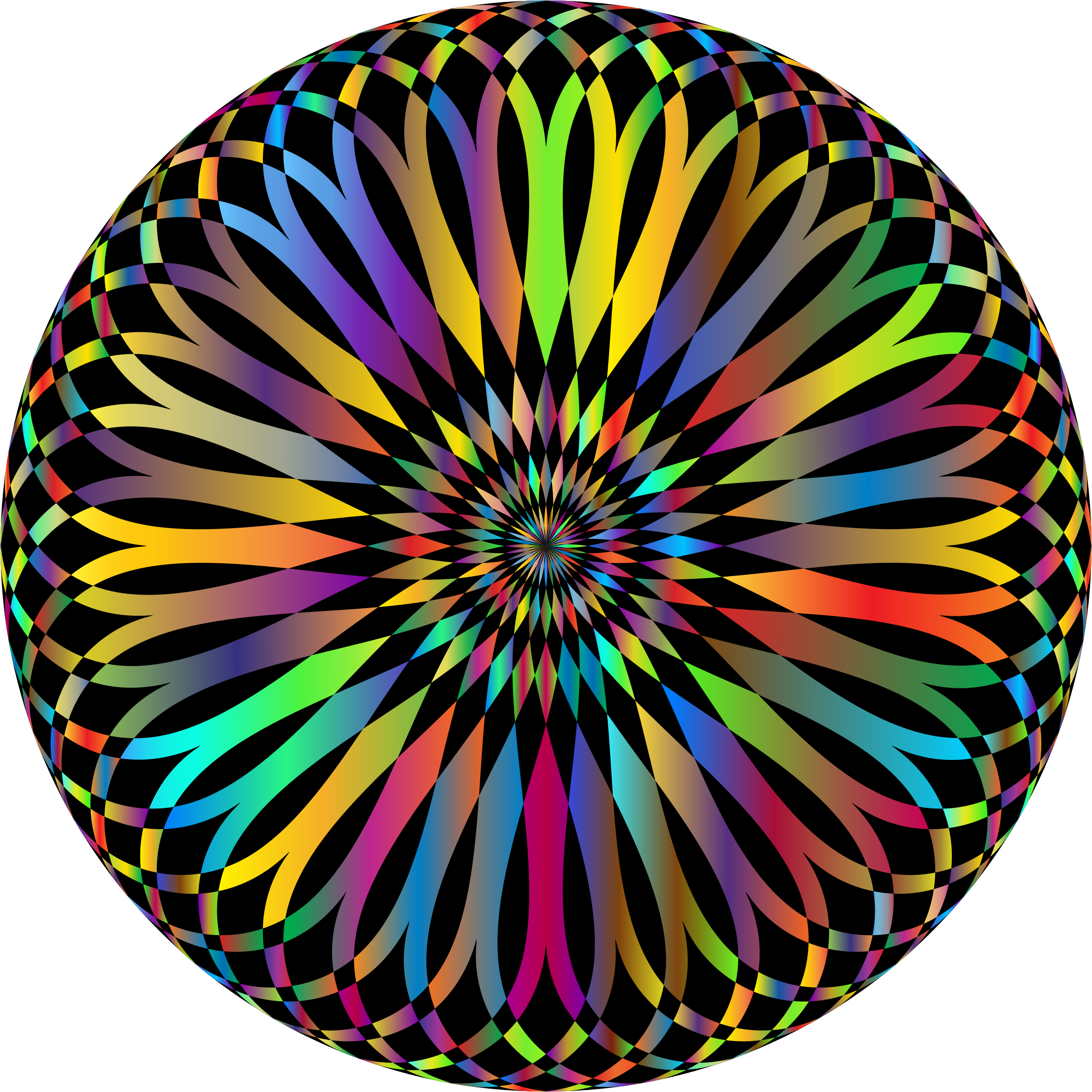Decorative Mandala Prismatic by GDJ