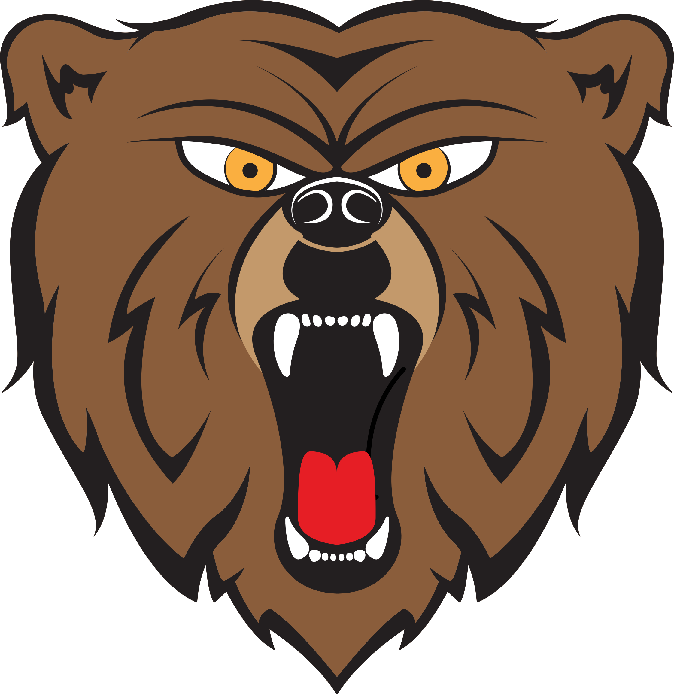 Angry Bear By HulmDesign by GDJ