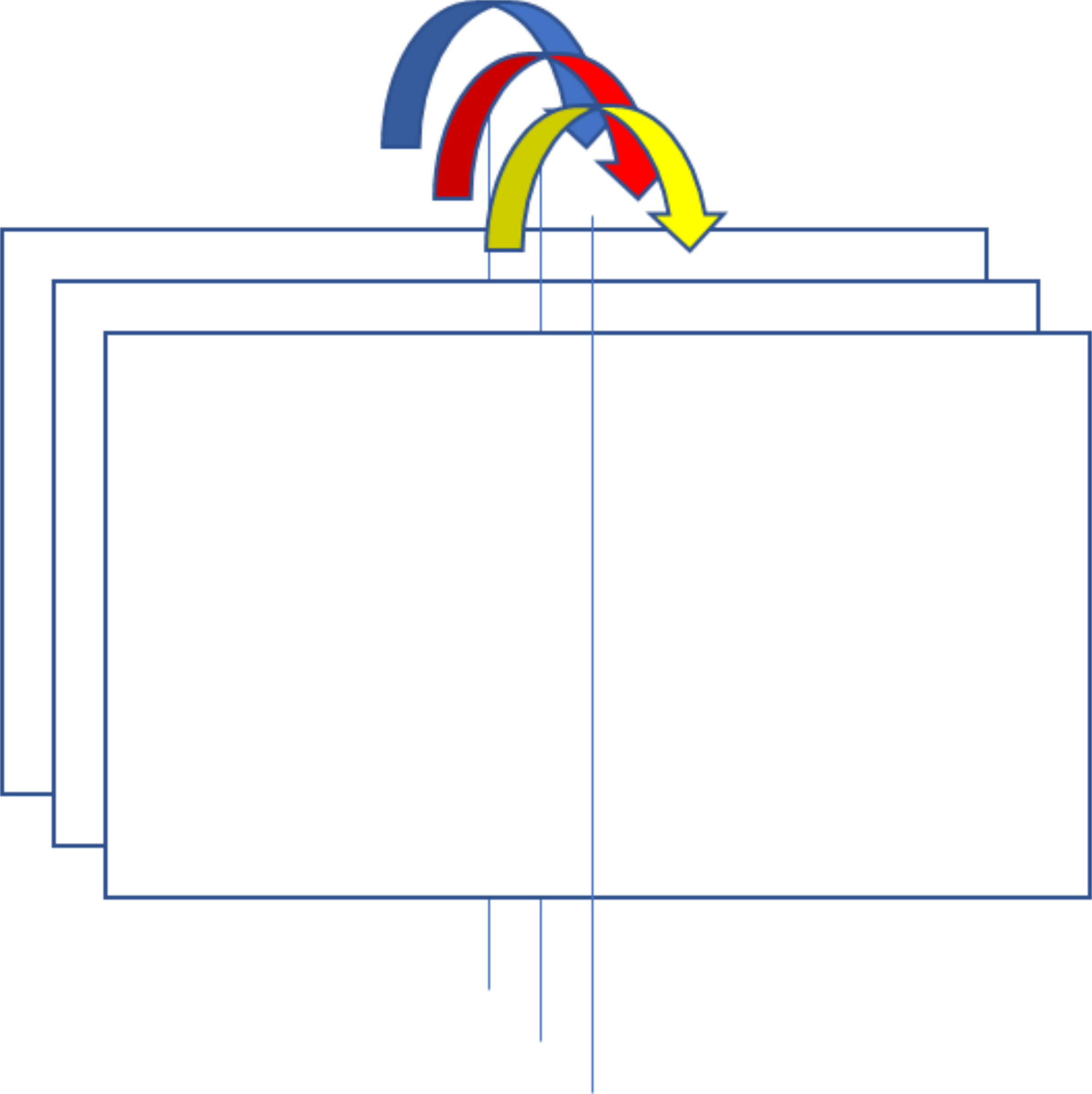 Clipart - How to fold a flip chart