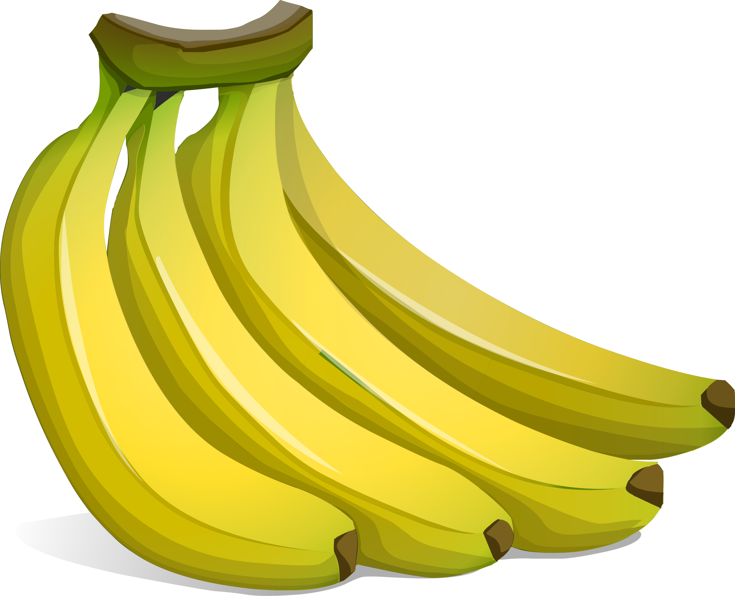 clipart a bunch of bananas rh openclipart org banana clipart free banana clipart jpeg