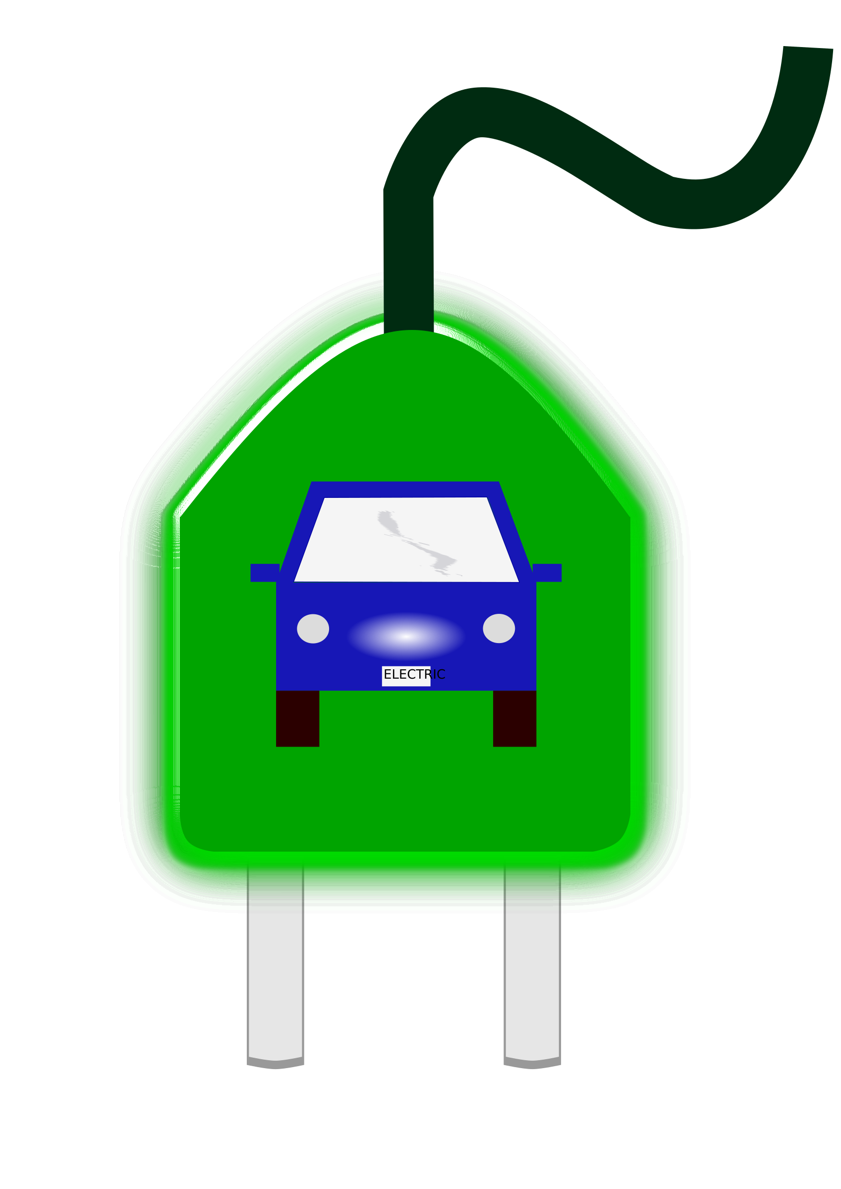 Electrical car by Chrisclipart