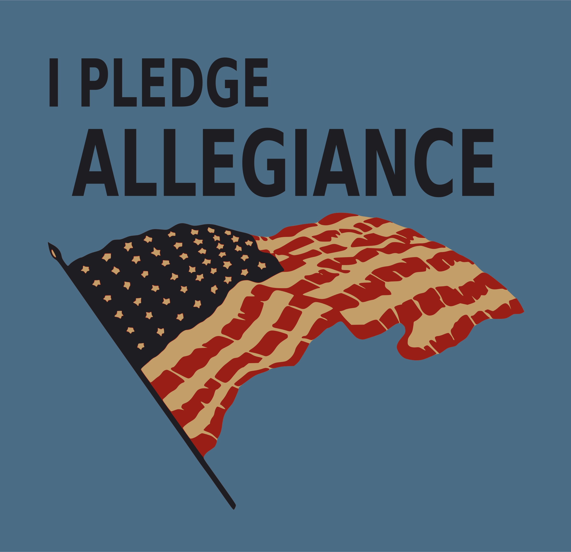 Pledge allegiance by Firkin
