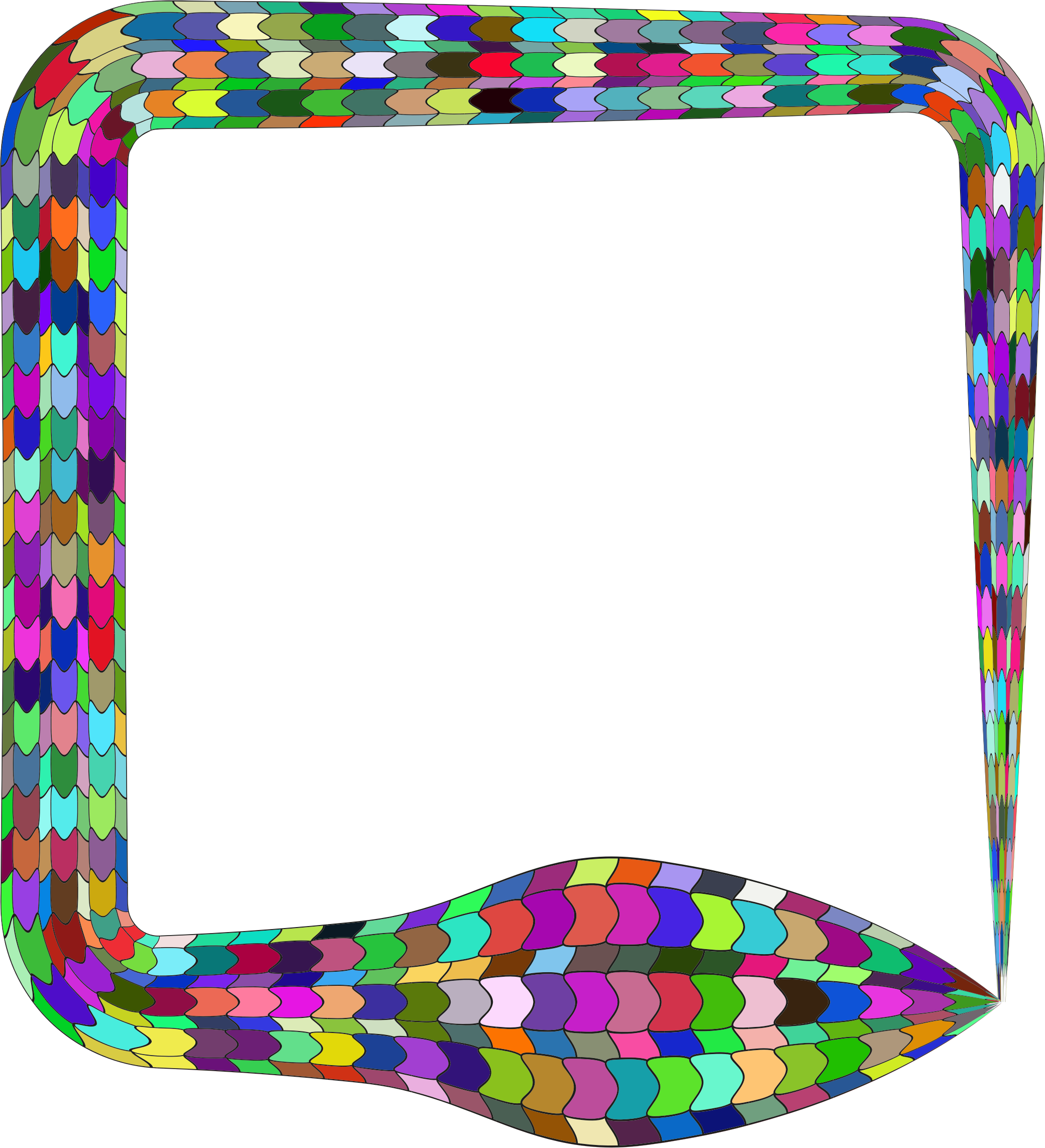 Snake Frame 2 Prismatic by GDJ