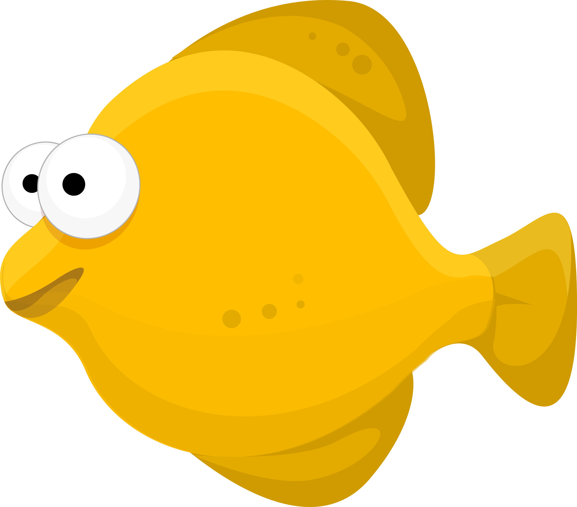 Clipart Cartoon Fish