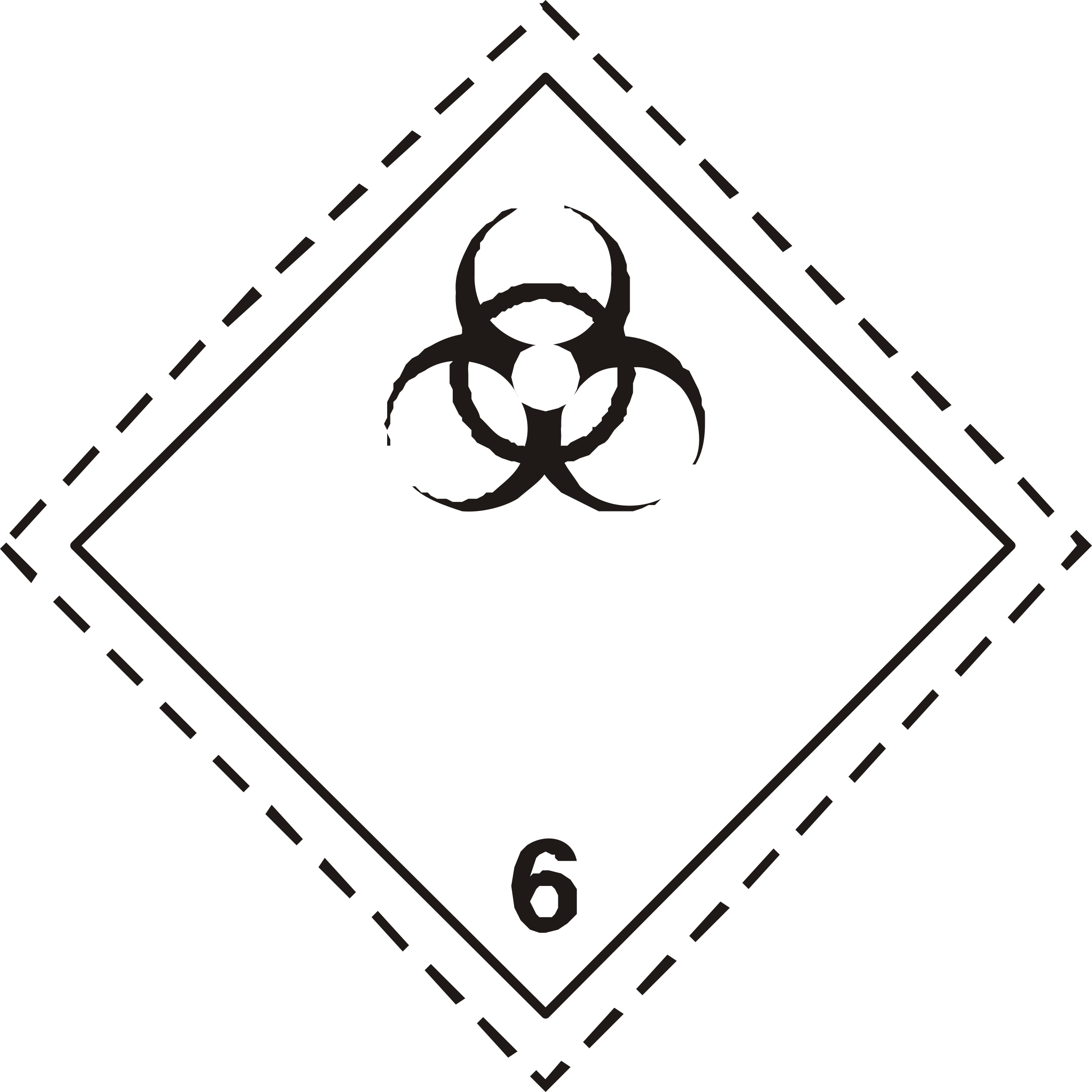 ADR pictogram 6.2-Infectious substances by Juhele
