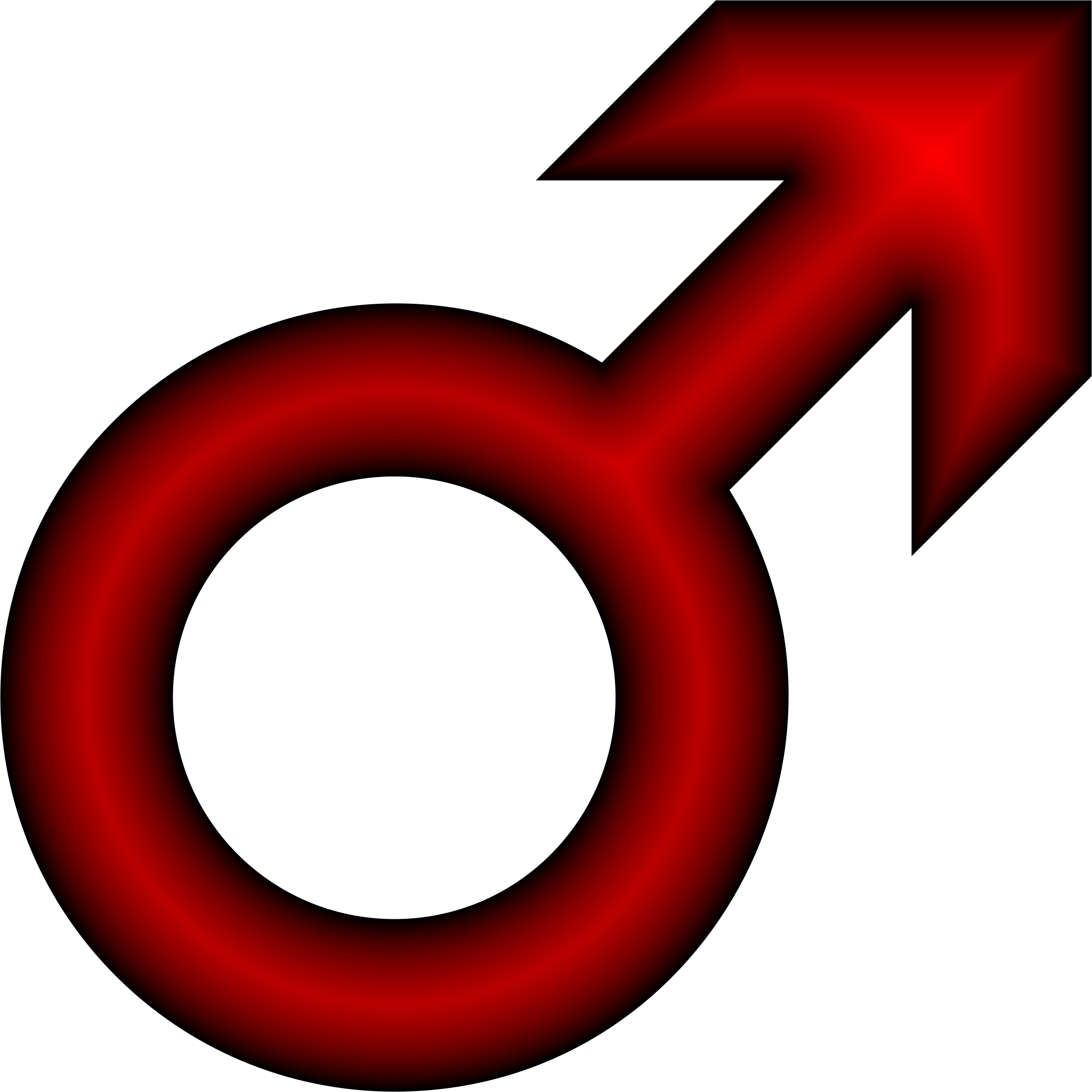 Male Symbol Crimson by GDJ