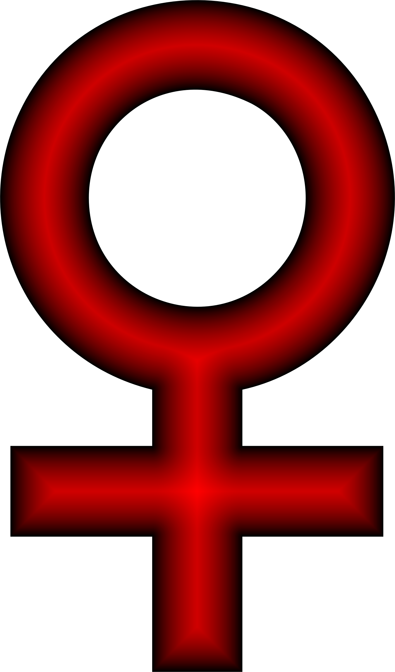 Female Symbol Crimson by GDJ