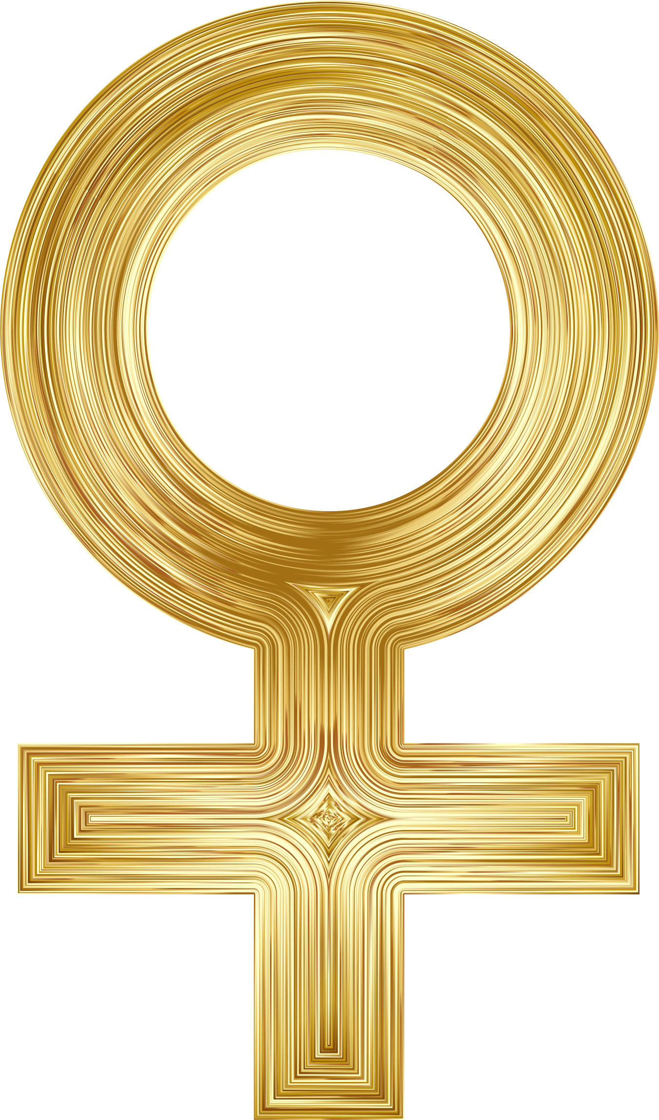Female Symbol Gold by GDJ