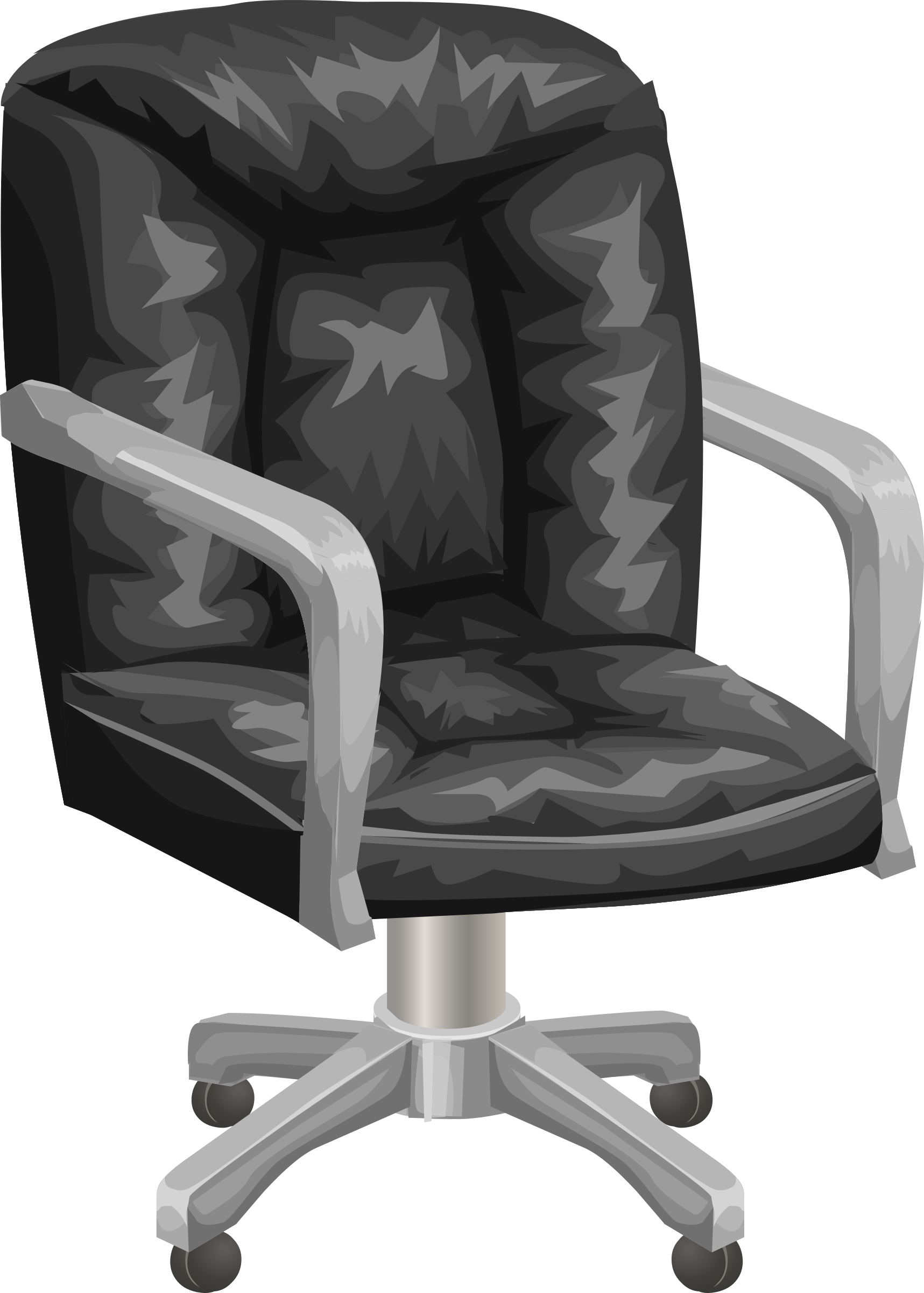 Black office chair from Glitch by anarres