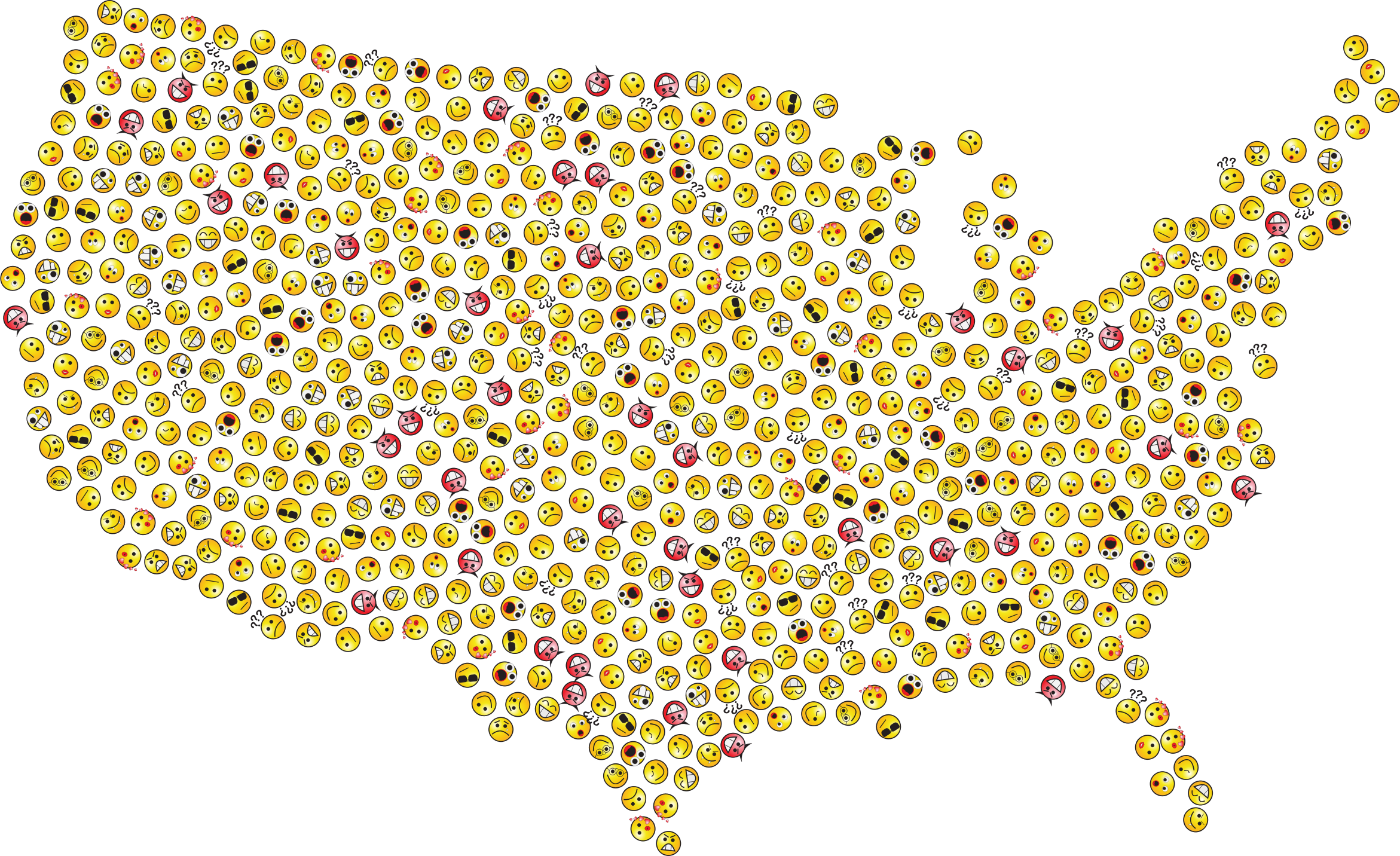 United States Smileys by GDJ