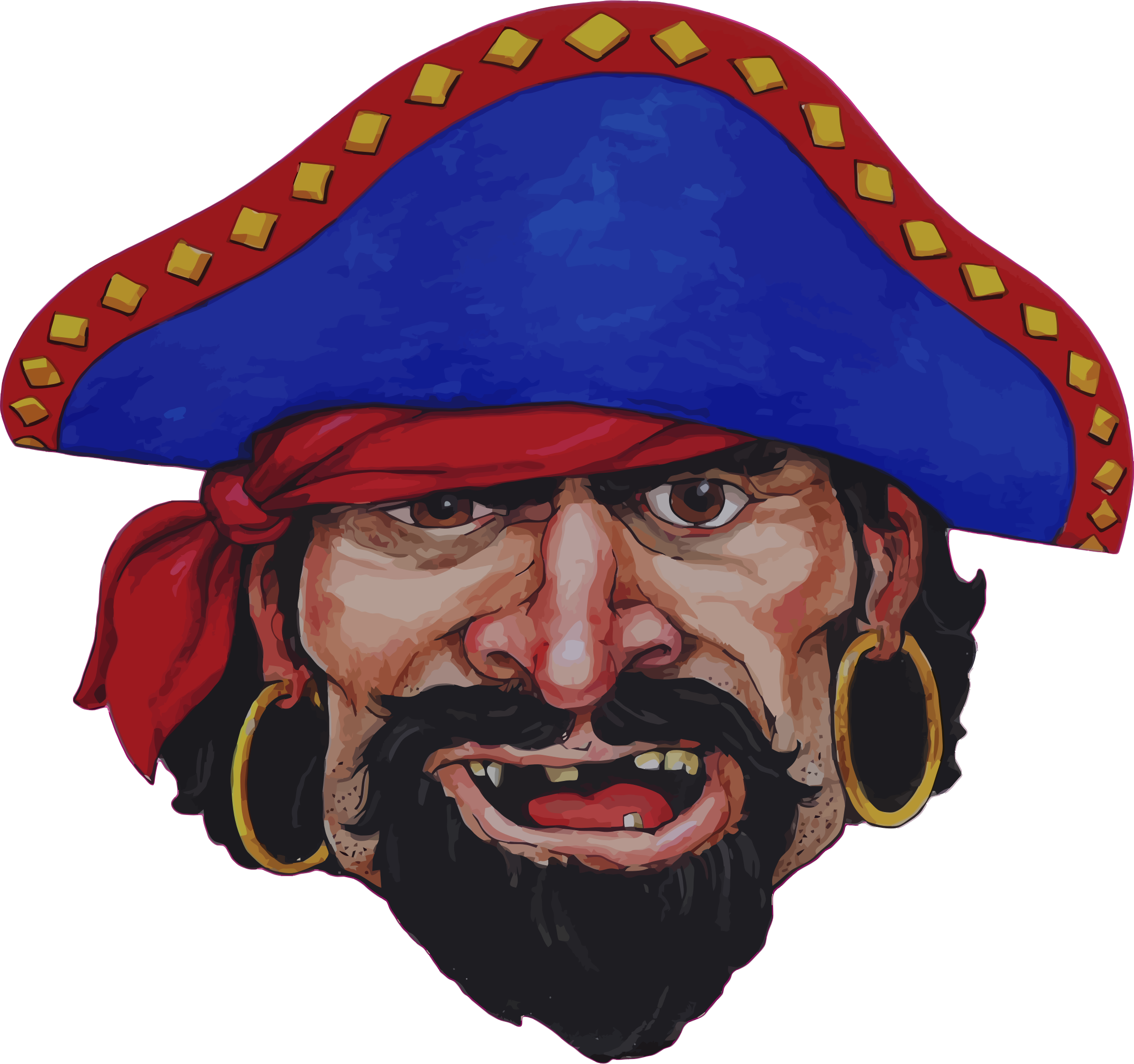 Realistic Pirate Illustration by GDJ