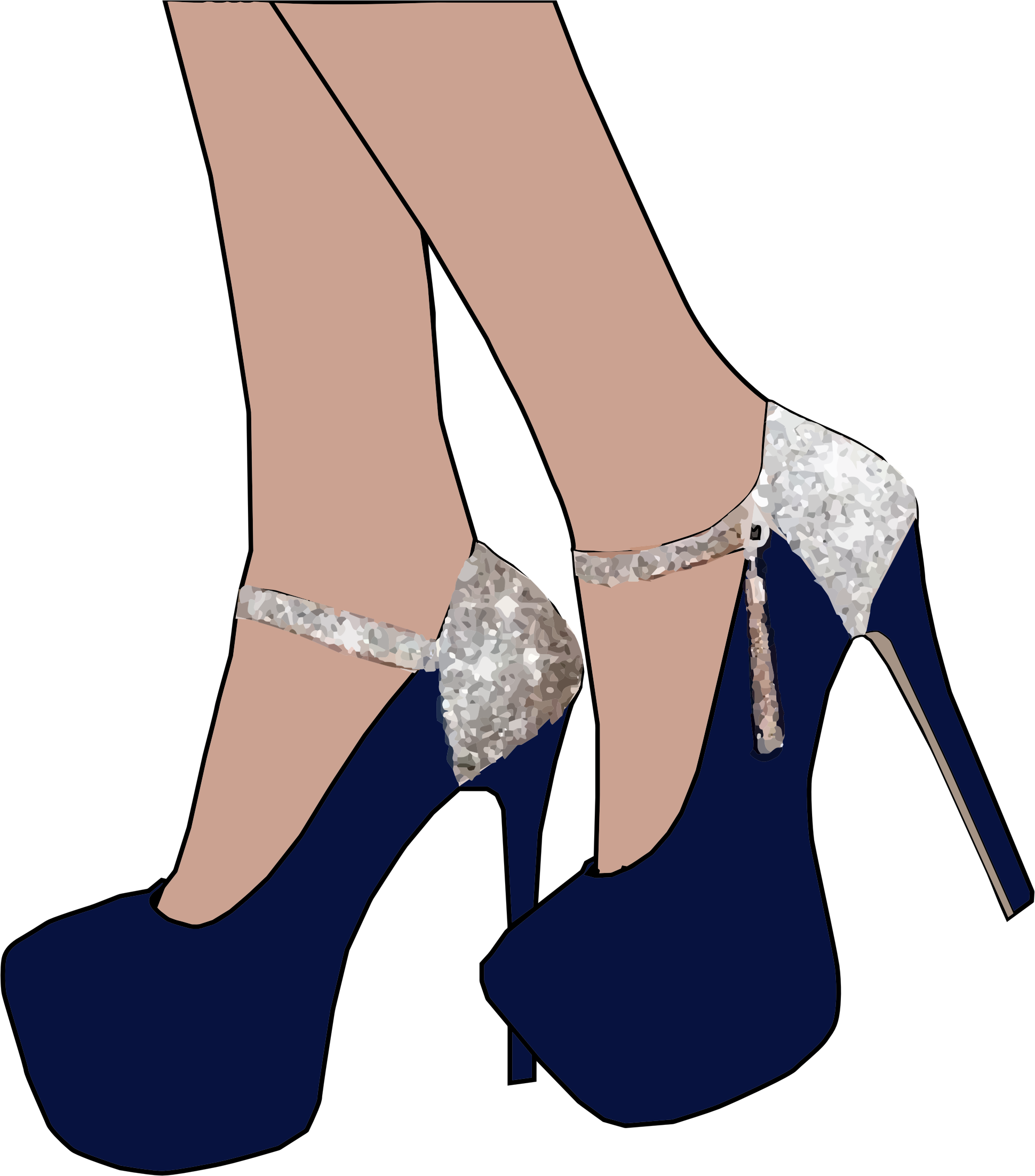 Sparkly Women's Shoes by GDJ