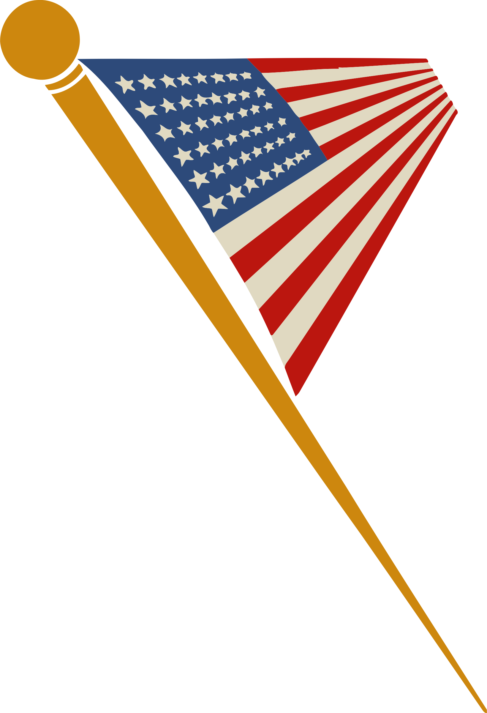 US flag 2 by Firkin