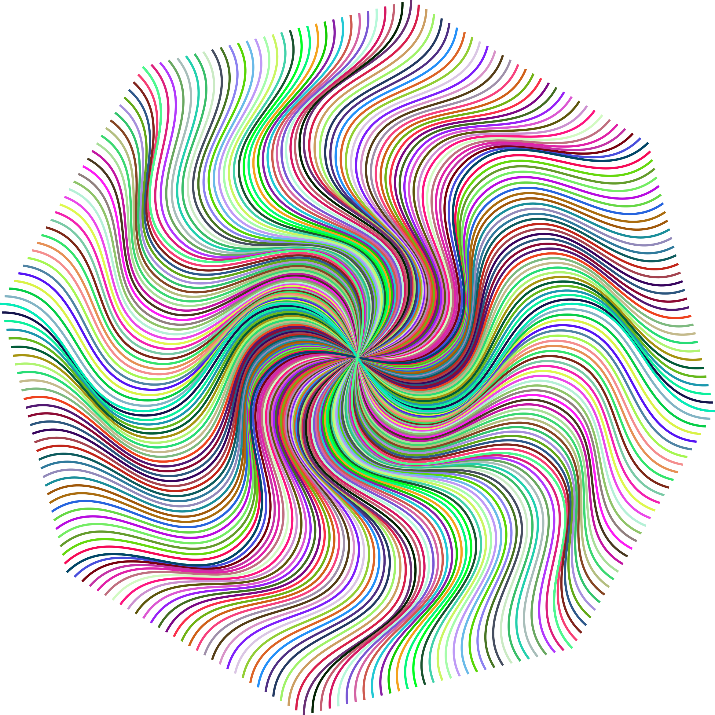 Line Art No Background : Clipart prismatic pinwheel line art no background