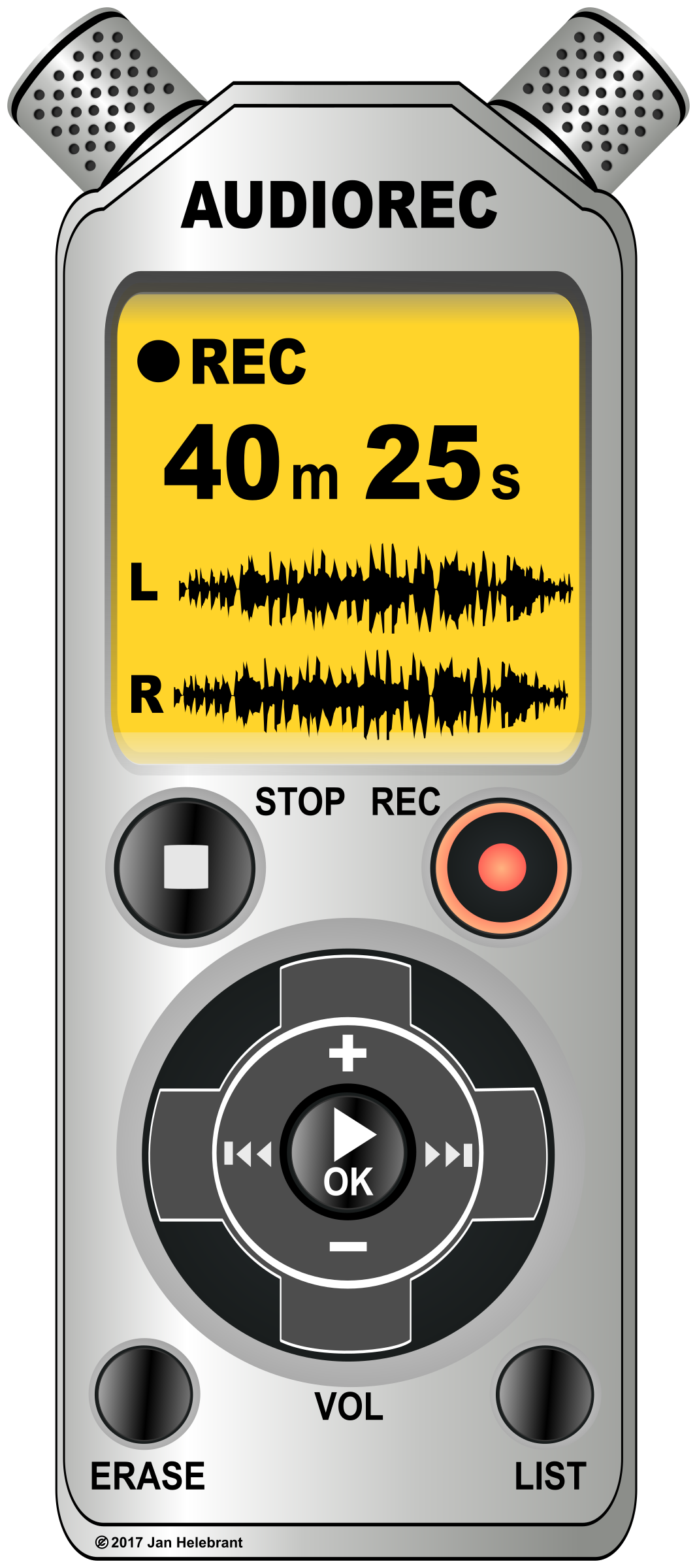 Voice / audio recorder / dictaphone by Juhele