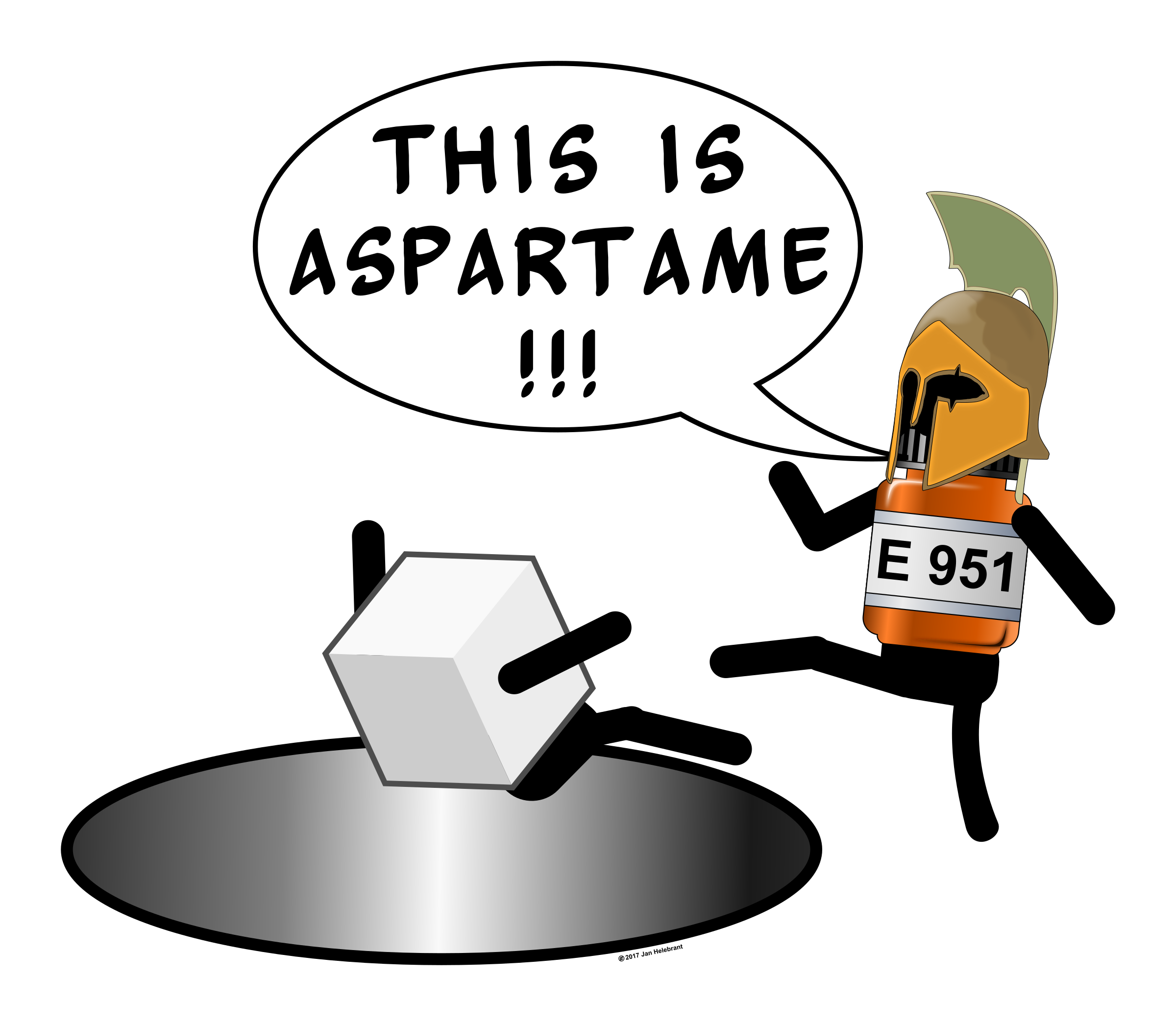 This is Aspartame! by Juhele