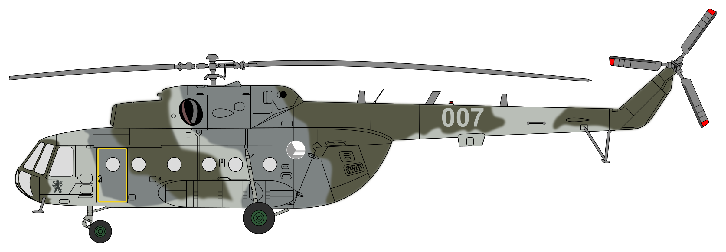 mi helicopter with Mil Mi17 Czech Air Force Camouflage on Rolls Royce Wraith For Sale 10000245 also View photo besides E Mi 1 further Mil Mi17 Czech Air Force Camouflage together with Open photo.